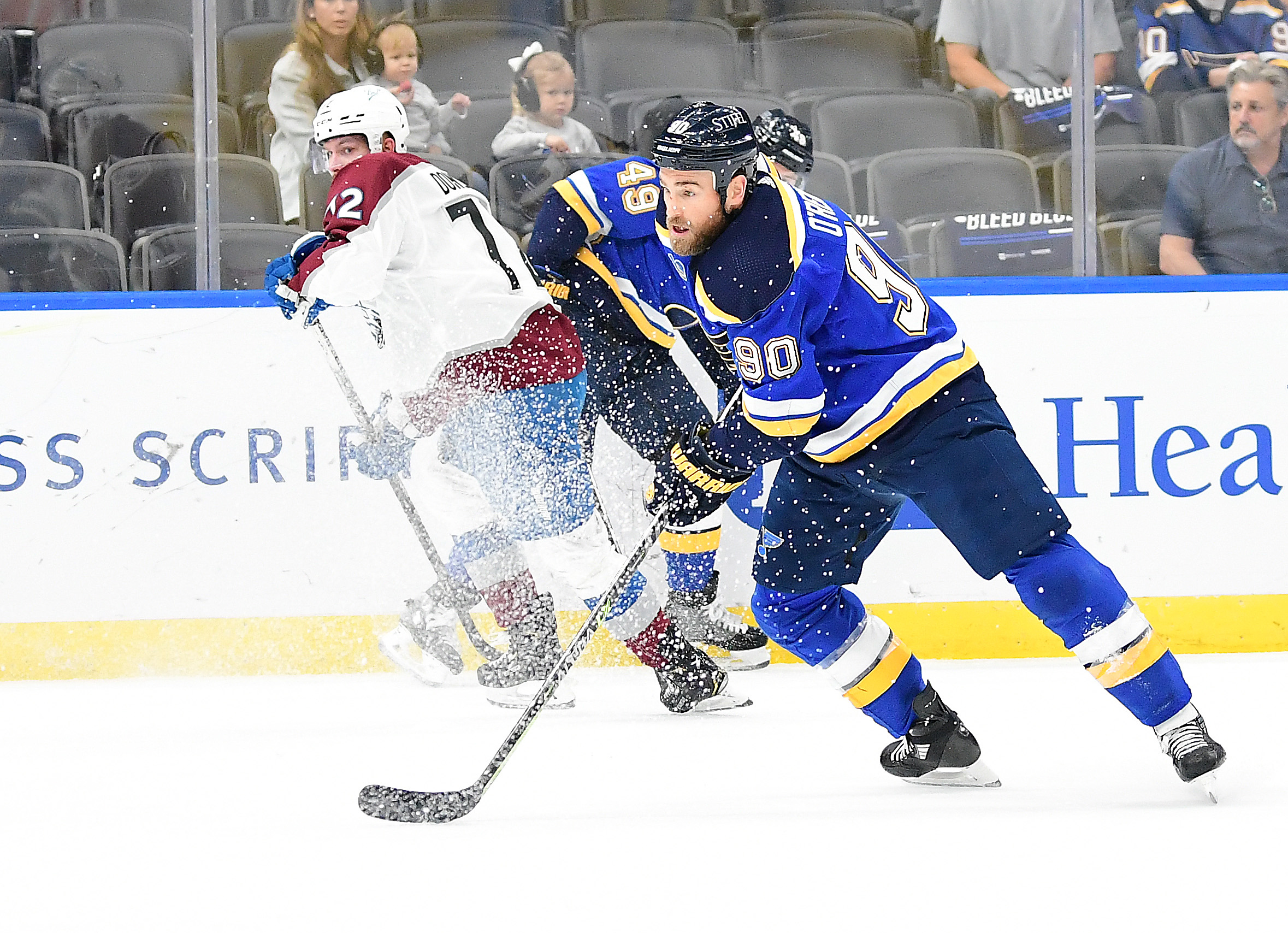 NHL: MAY 23 Stanley Cup Playoffs First Round - Avalanche at Blues