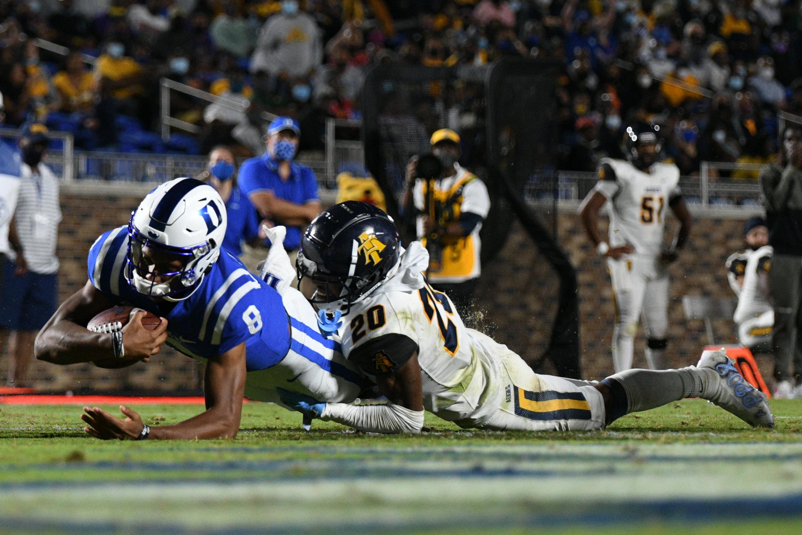 NCAA Football: North Carolina A&T at Duke