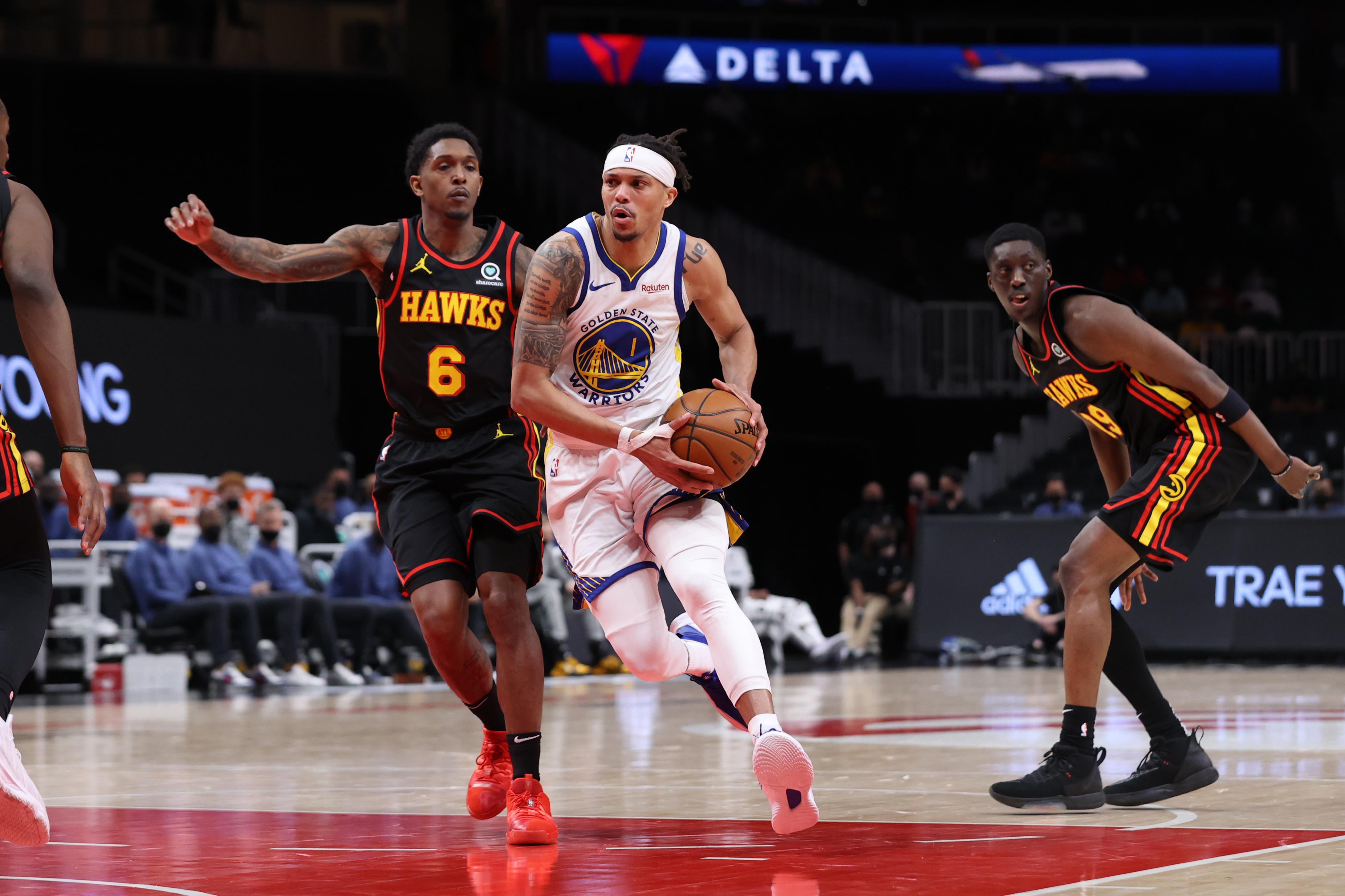 Golden State Warriors v Atlanta Hawks