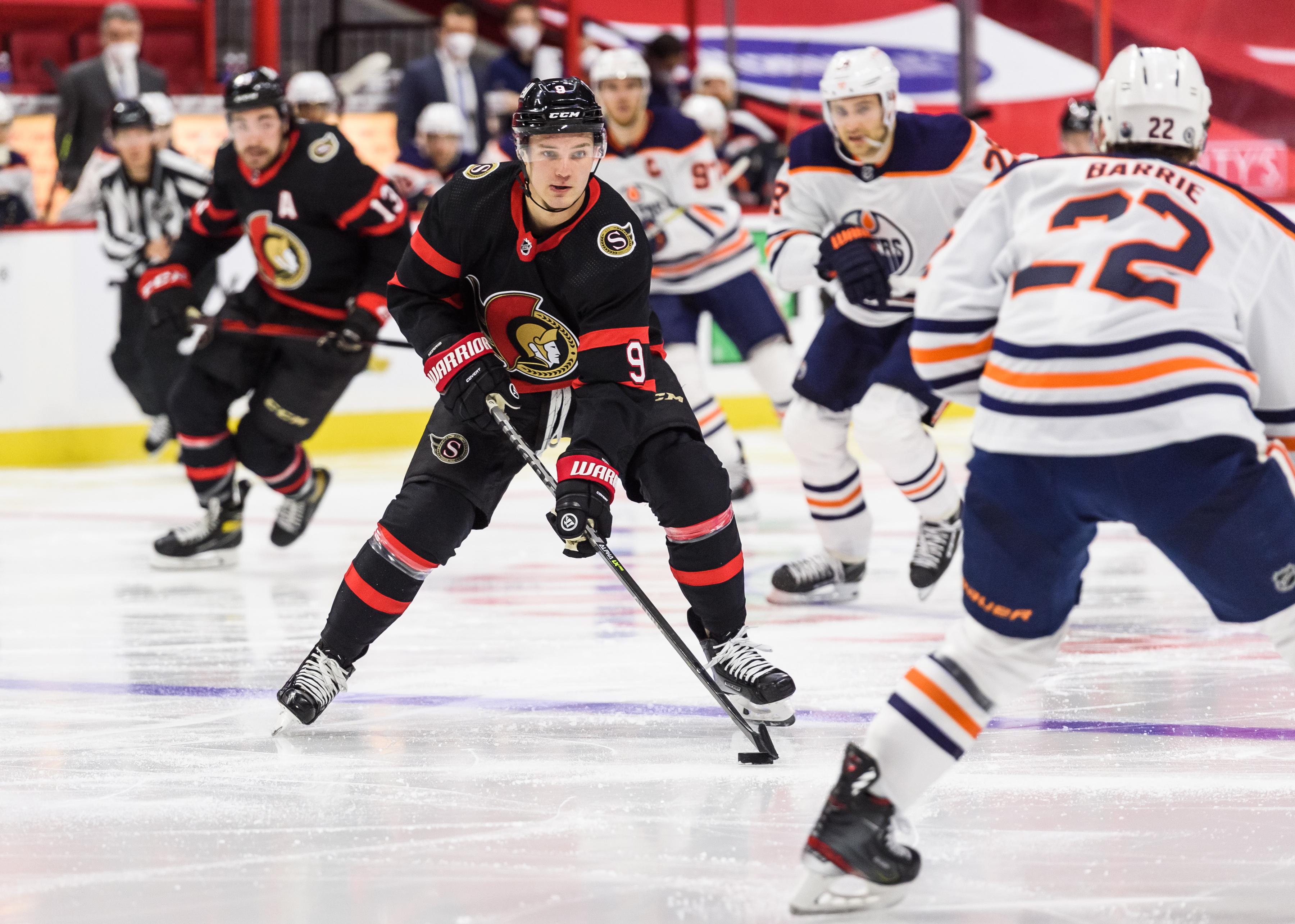 NHL: APR 07 Edmonton at Senators