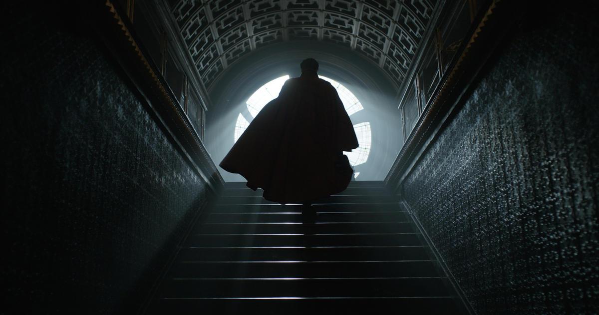 "Doctor Stephen Strange (Benedict Cumberbatch) appears in ""Doctor Strange."""