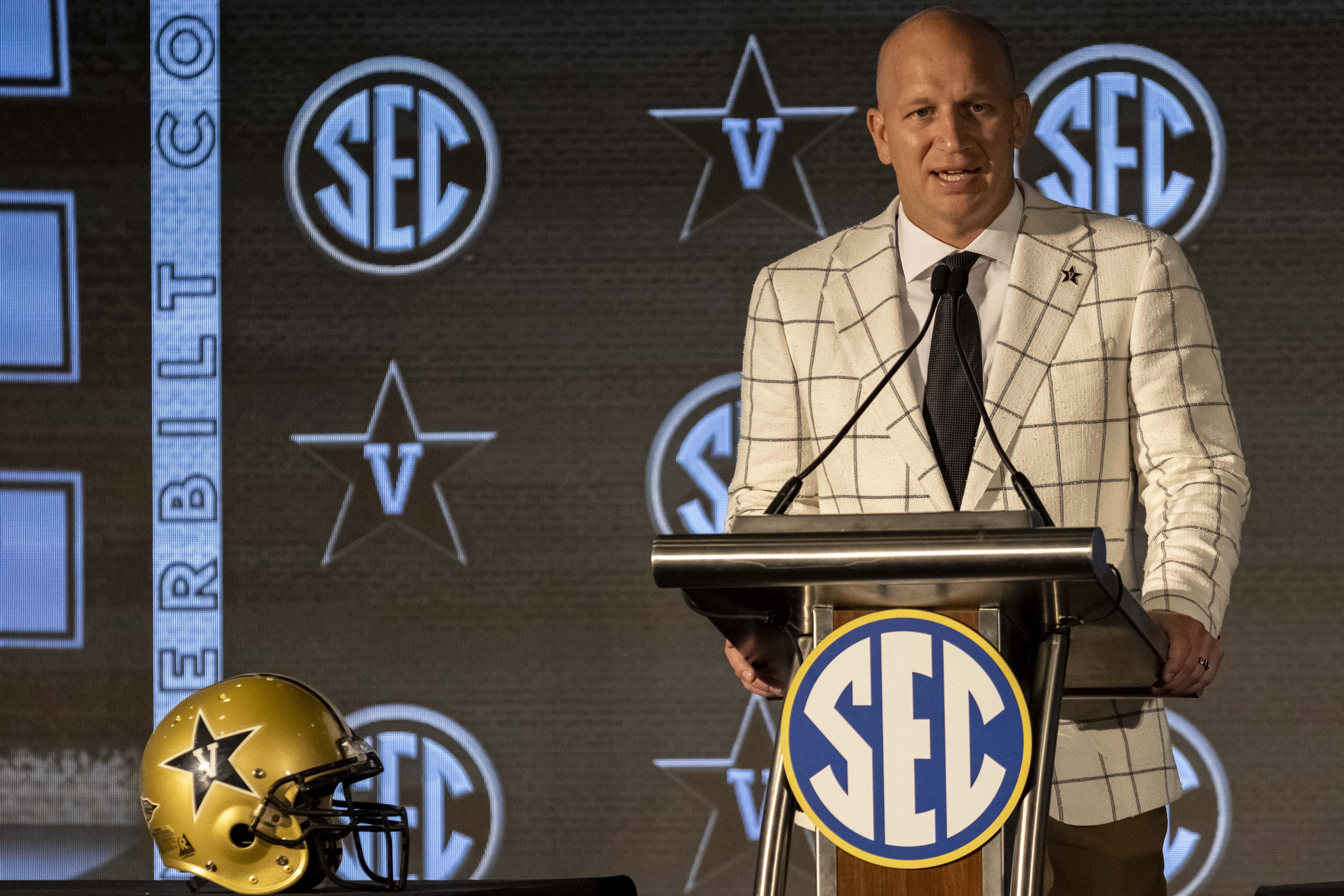 NCAA Football: SEC Media Days