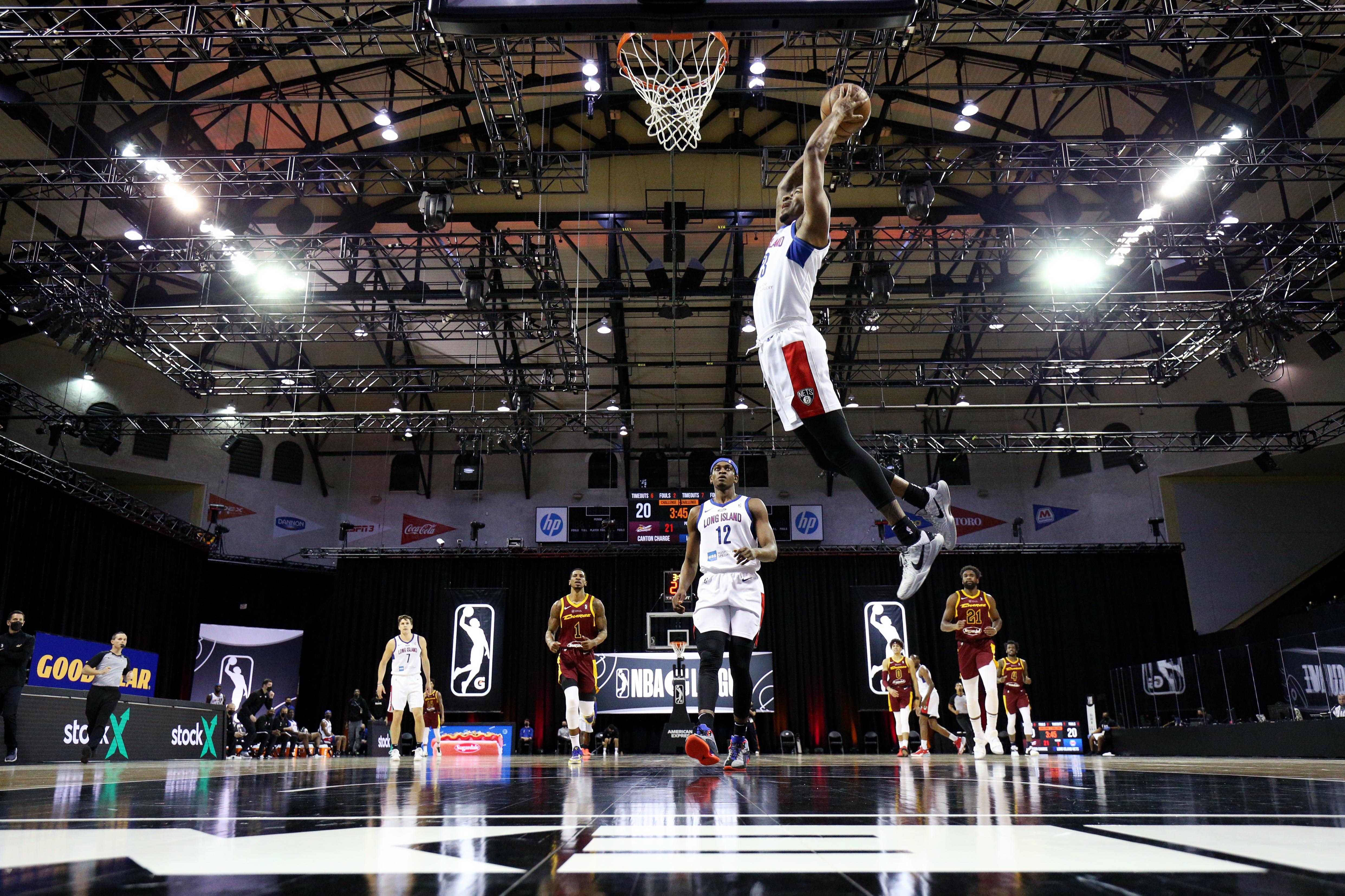Long Island Nets v Canton Charge