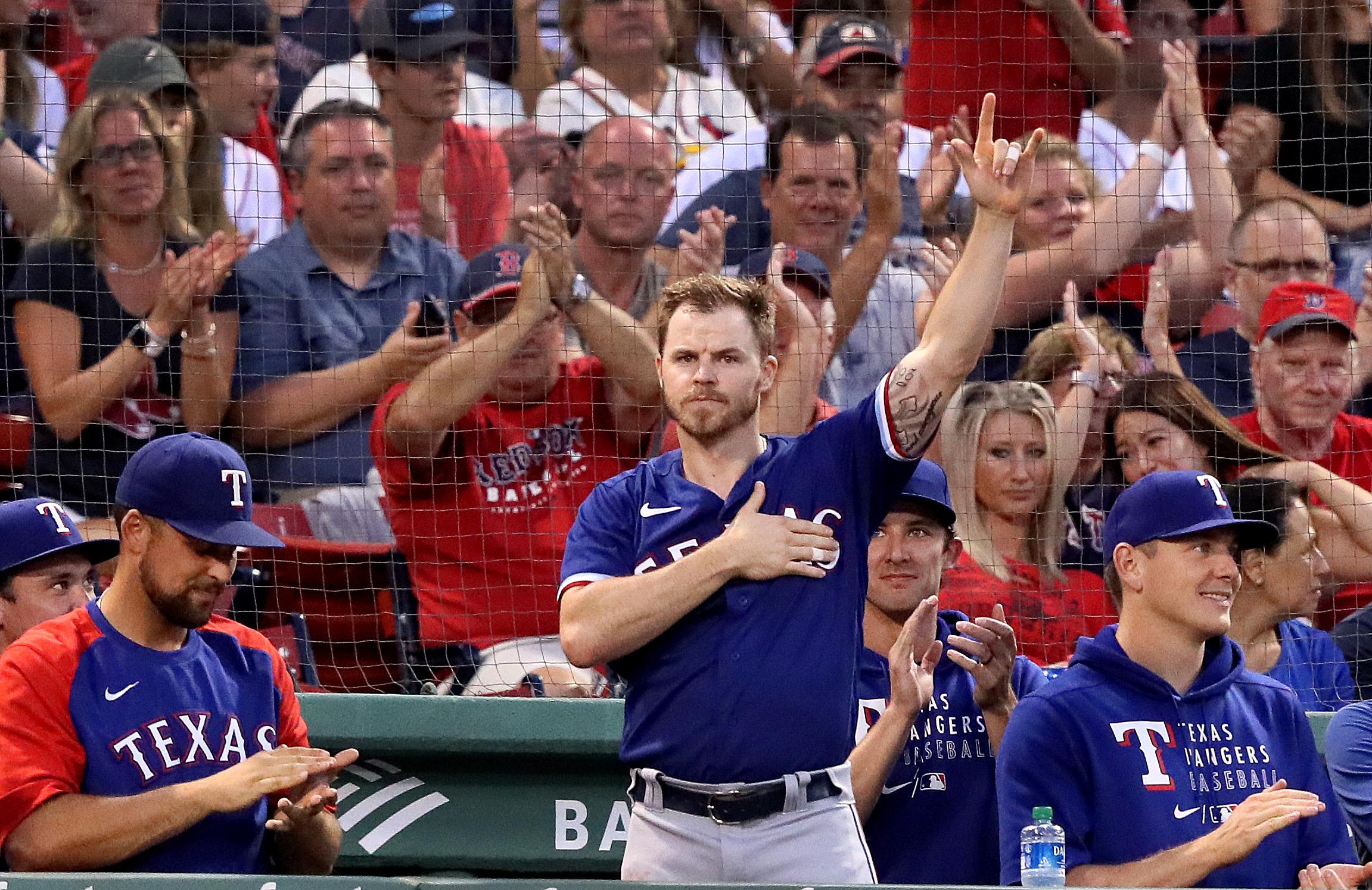 Texas Rangers Vs. Boston Red Sox at Fenway Park