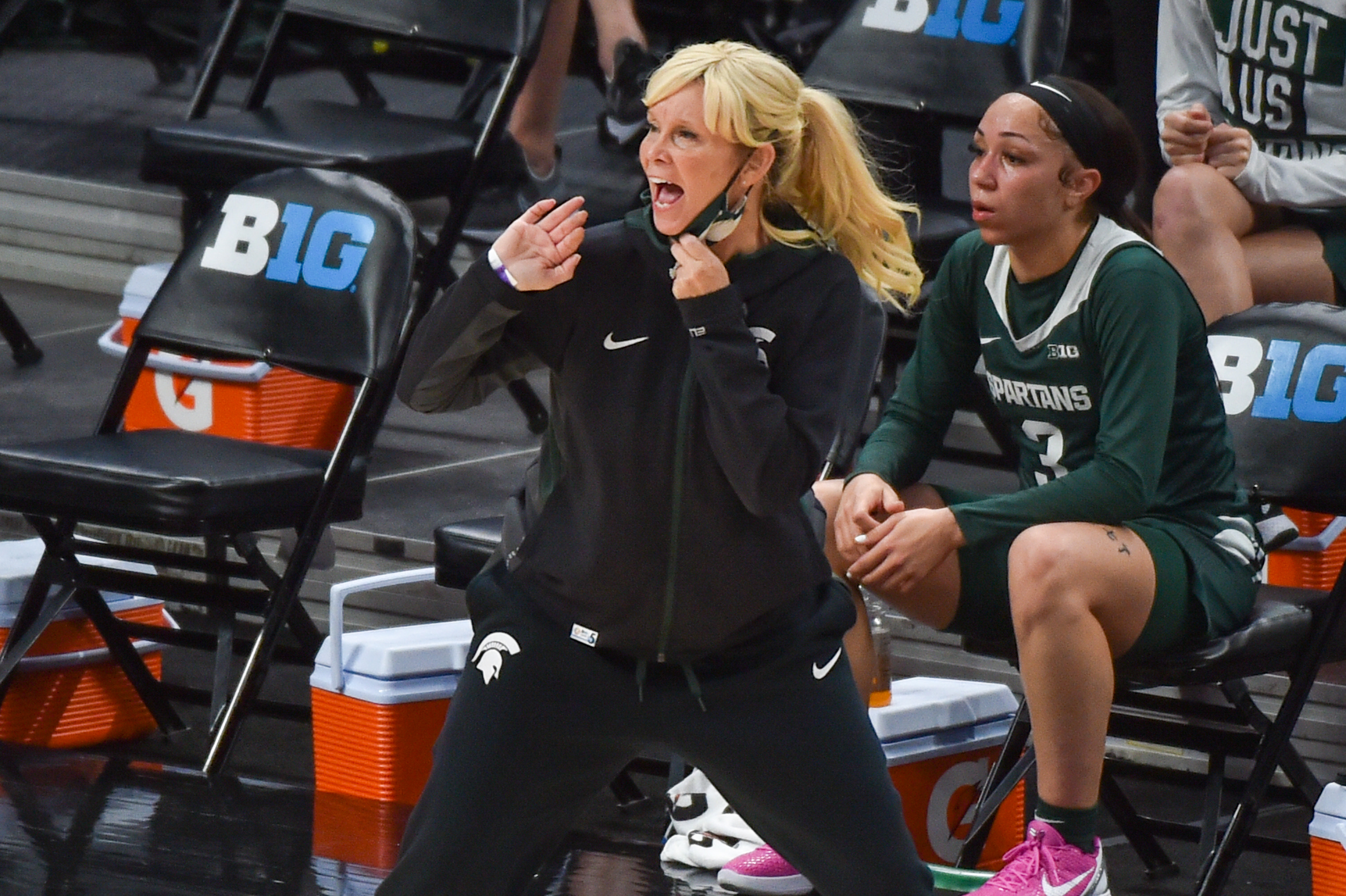 Michigan State v Indiana - Big Ten Women's Basketball Tournament - Quarterfinals