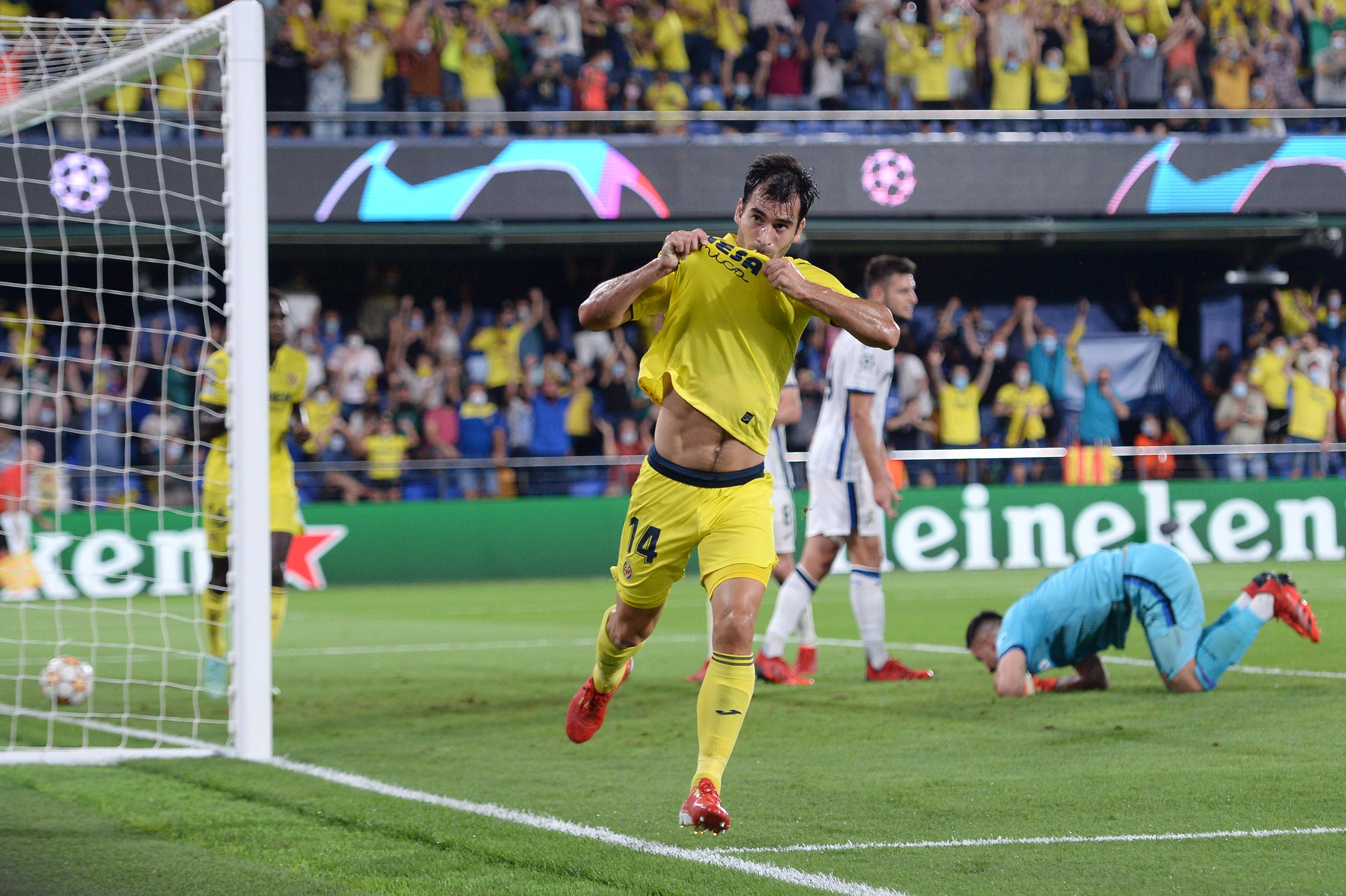 Villarreal CF v Atalanta: Group F - UEFA Champions League