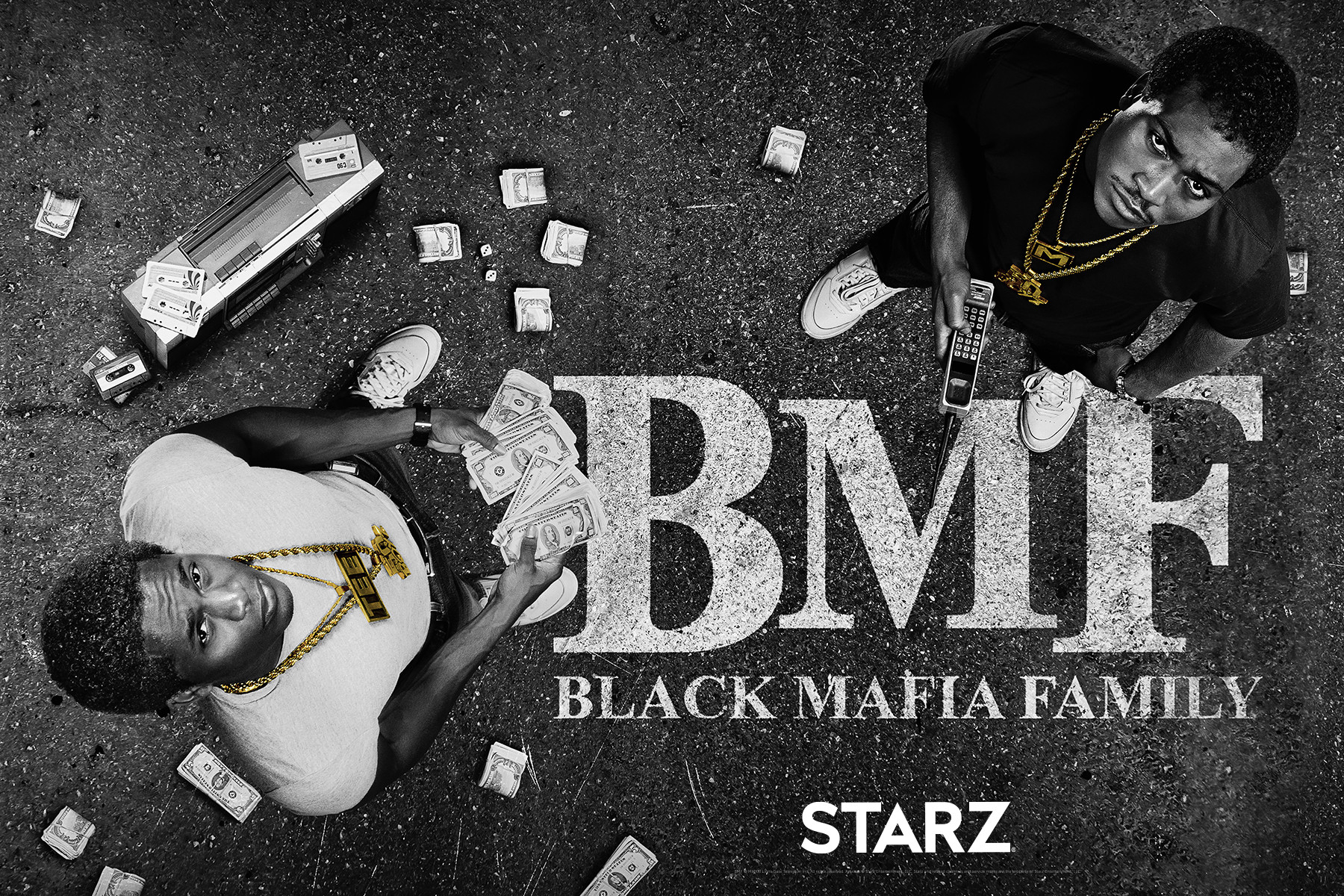 """REVOLT Exclusive: Inside the world of STARZ's new """"BMF"""" series"""