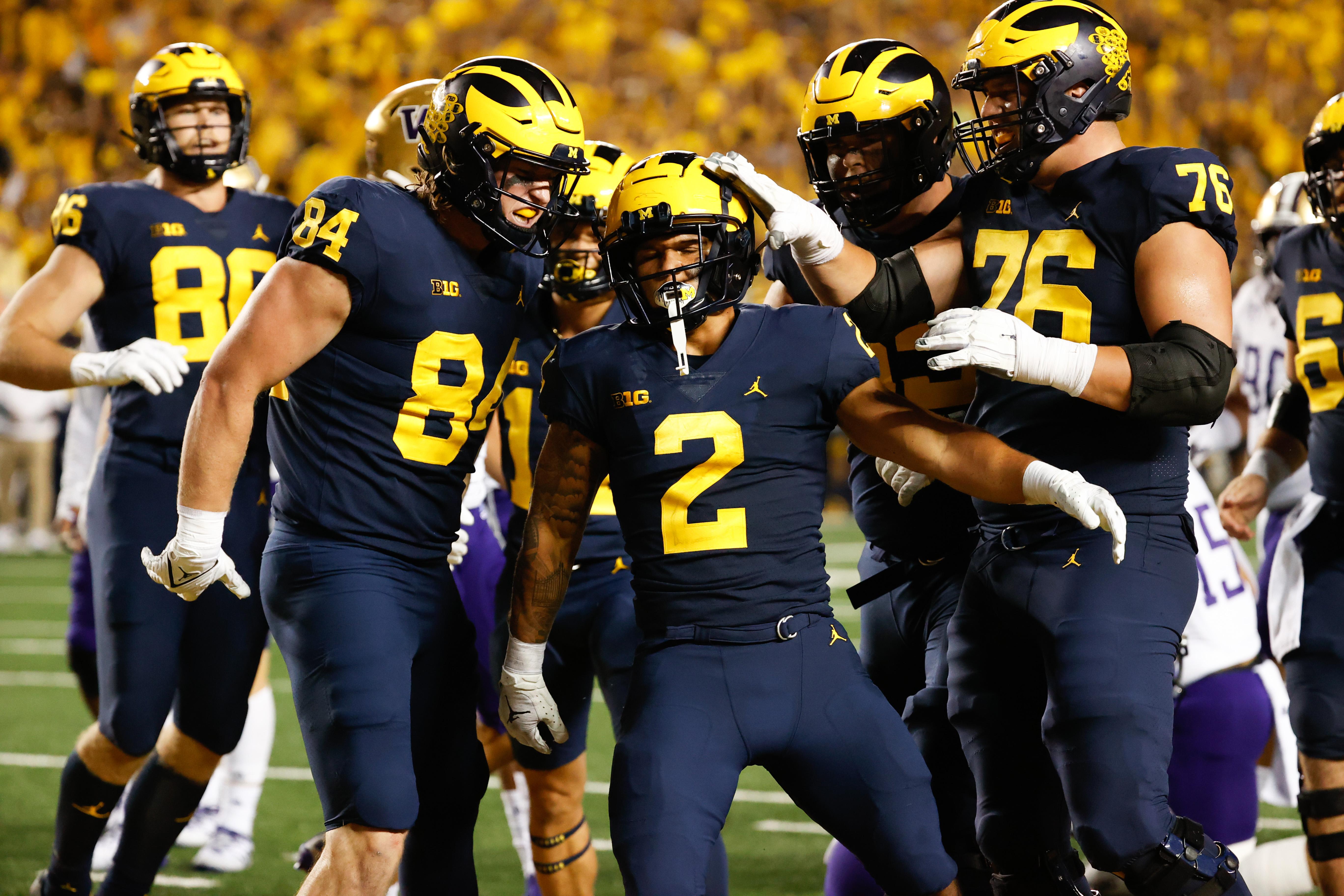 NCAA Football: Washington at Michigan