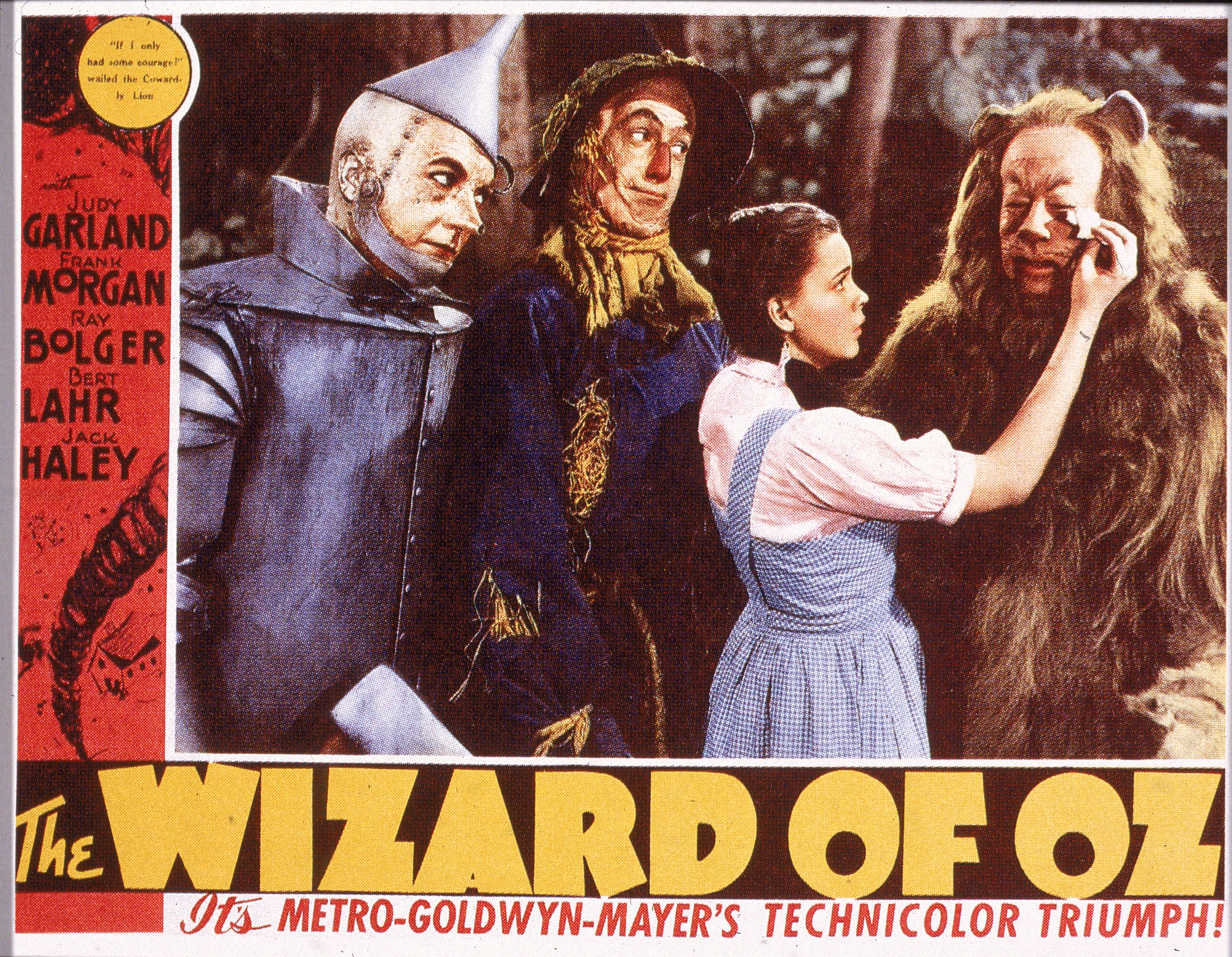 Lobby Card For 'The Wizard Of Oz'