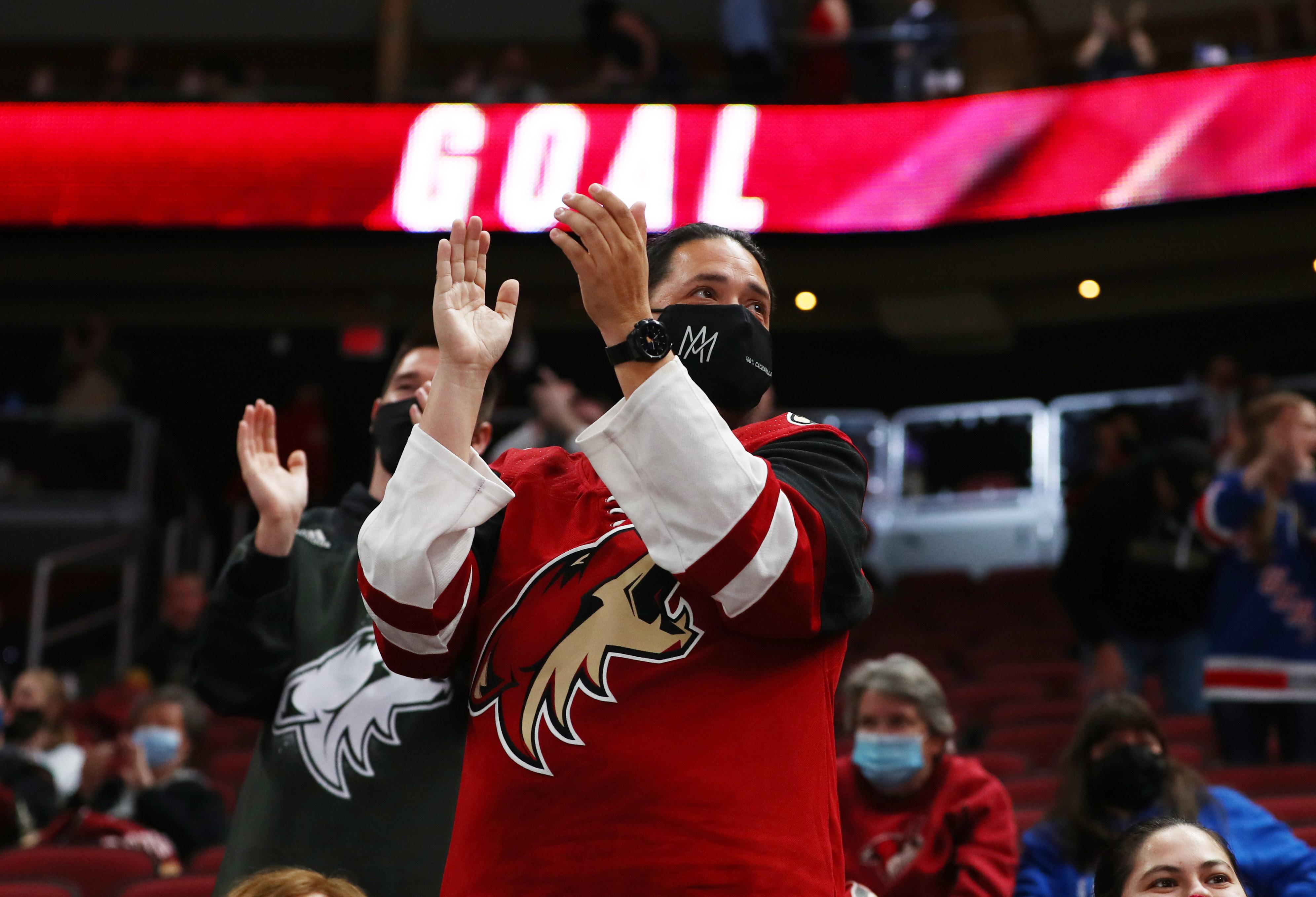 NHL: Vegas at Arizona Coyotes