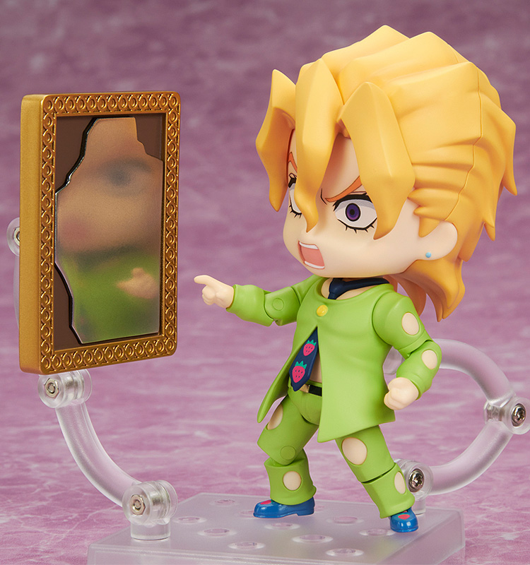 a nendoroid figure staring in the mirror