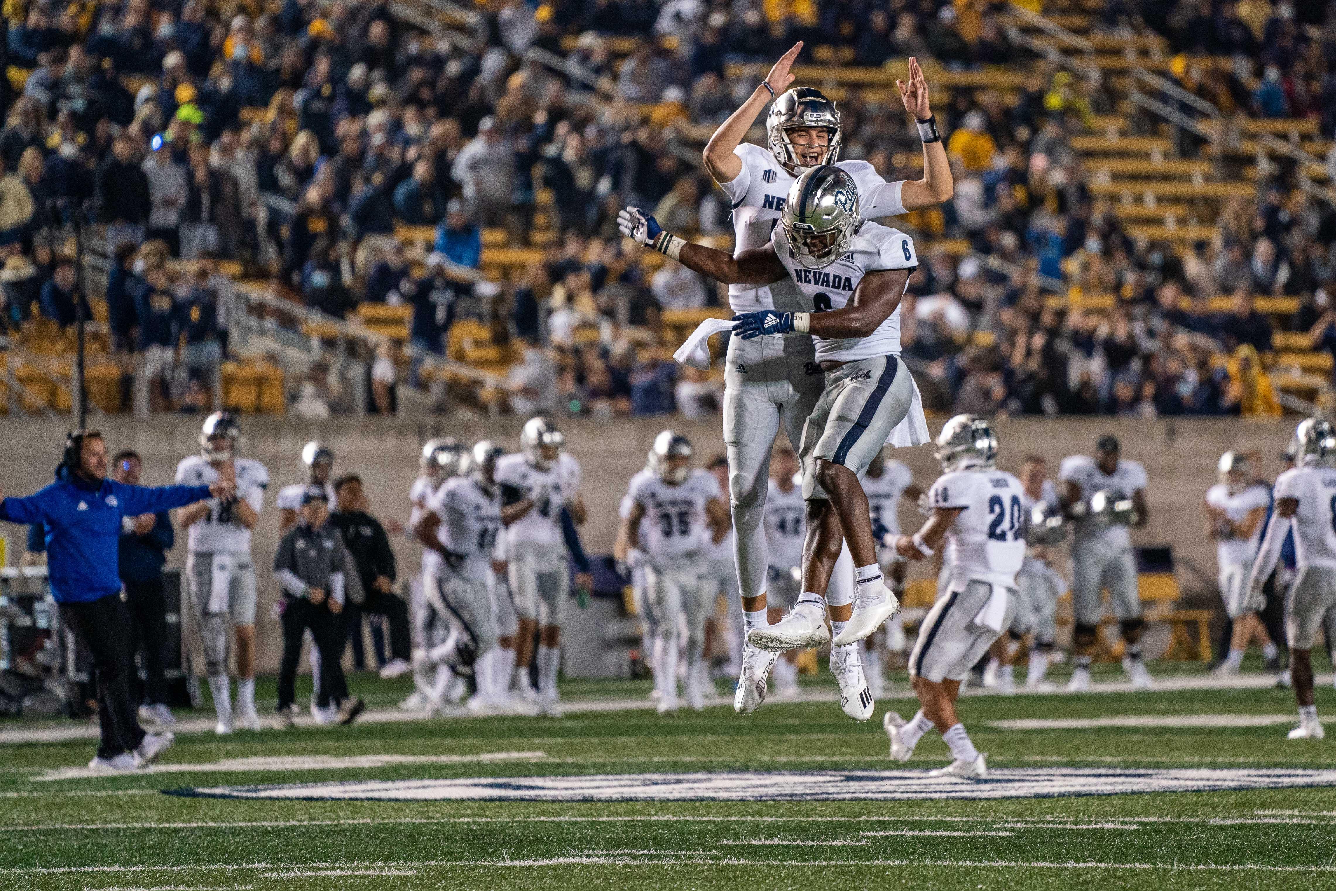 NCAA Football: Nevada at California