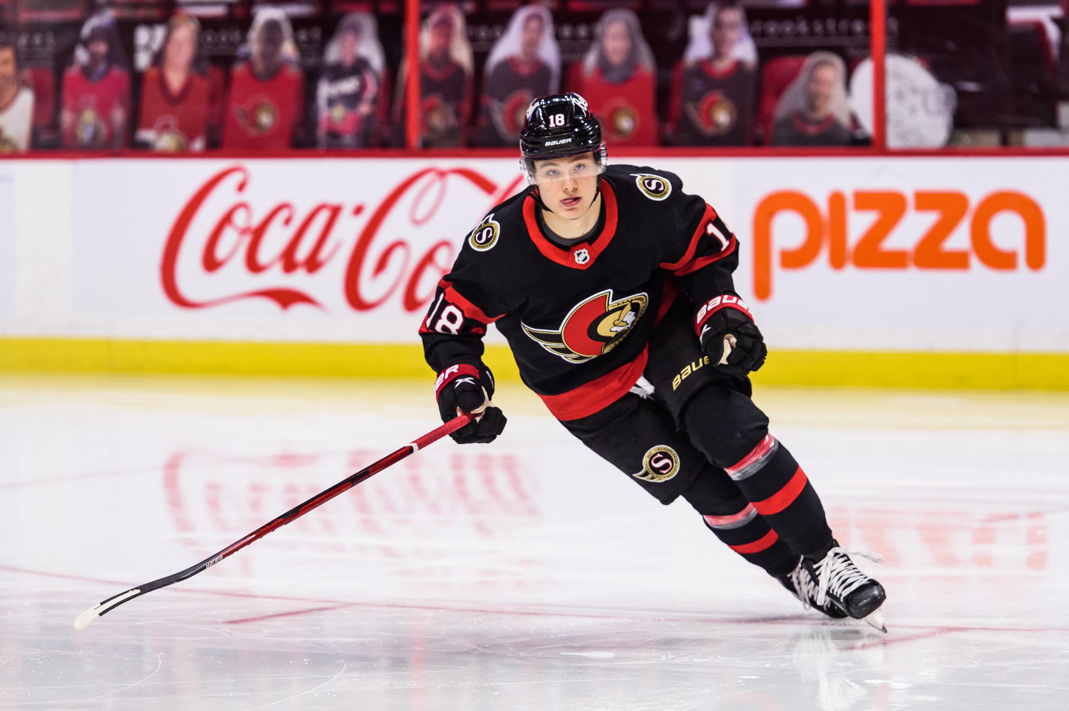 NHL: MAY 03 Jets at Senators