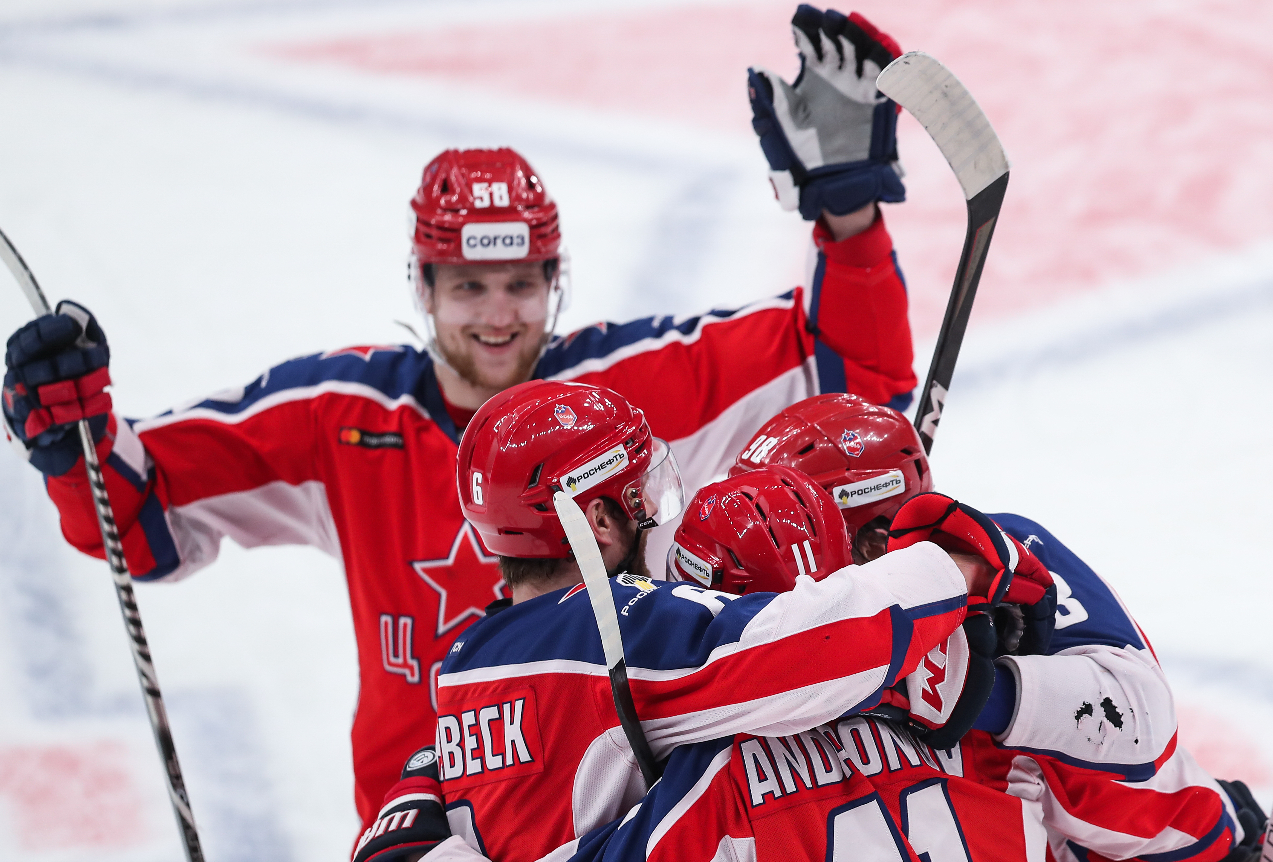 2020/2021 Kontinental Hockey League: CSKA Moscow vs Spartak Moscow