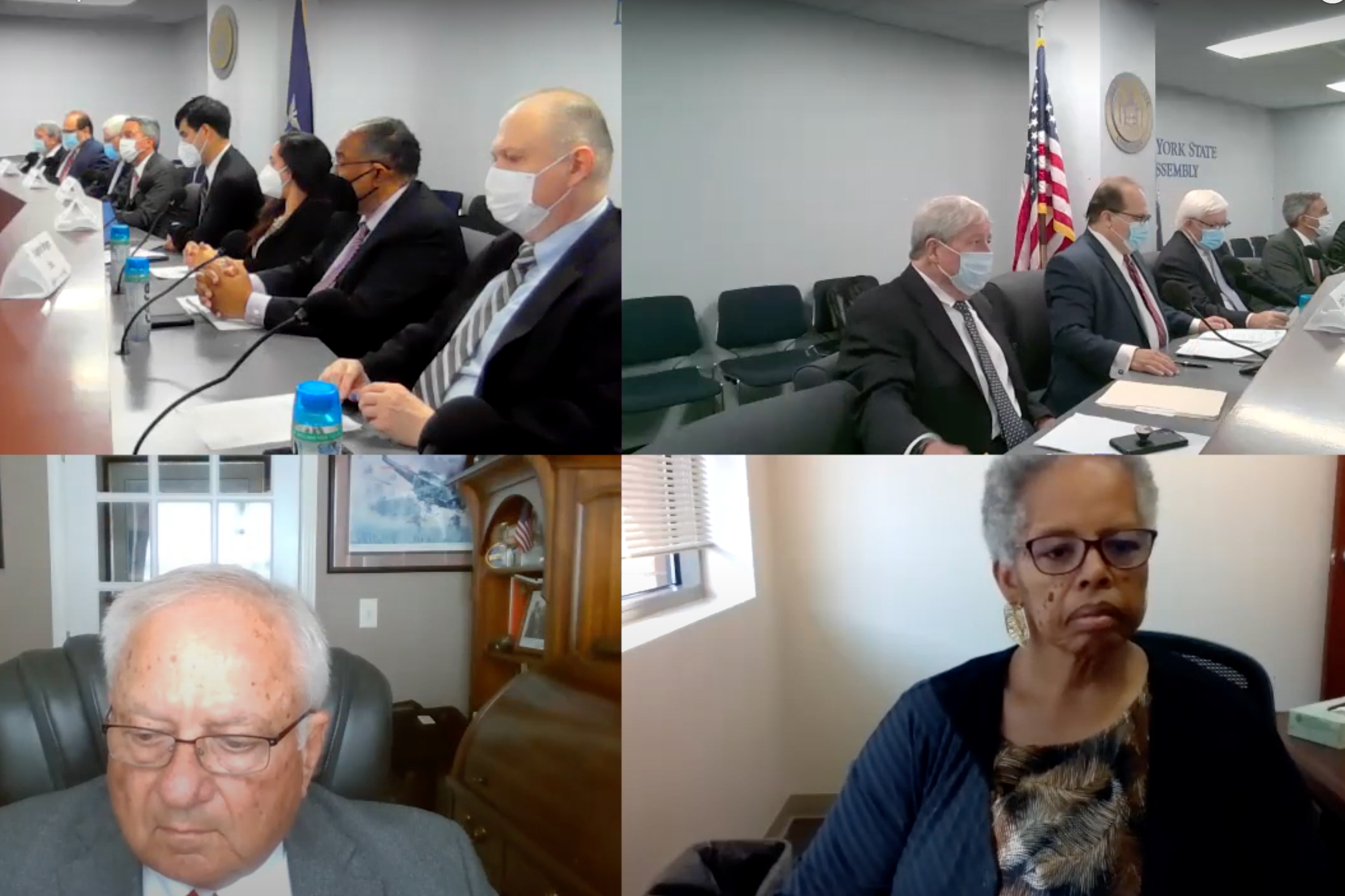 The state's Independent Redistricting Commission held a meeting Wednesday, Sept. 15, 2021.