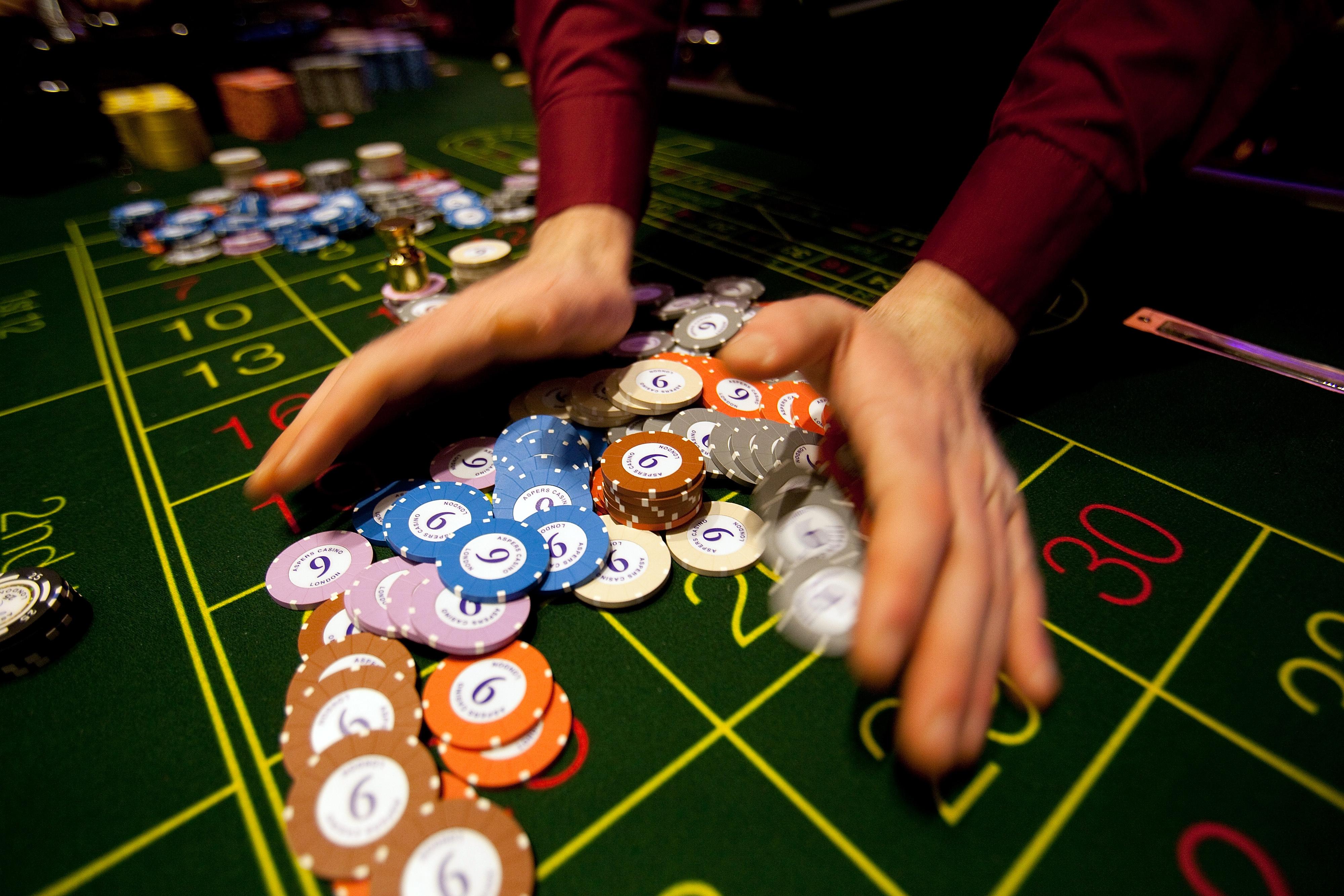 Inside Aspers Casino at Westfield Stratford City Mall