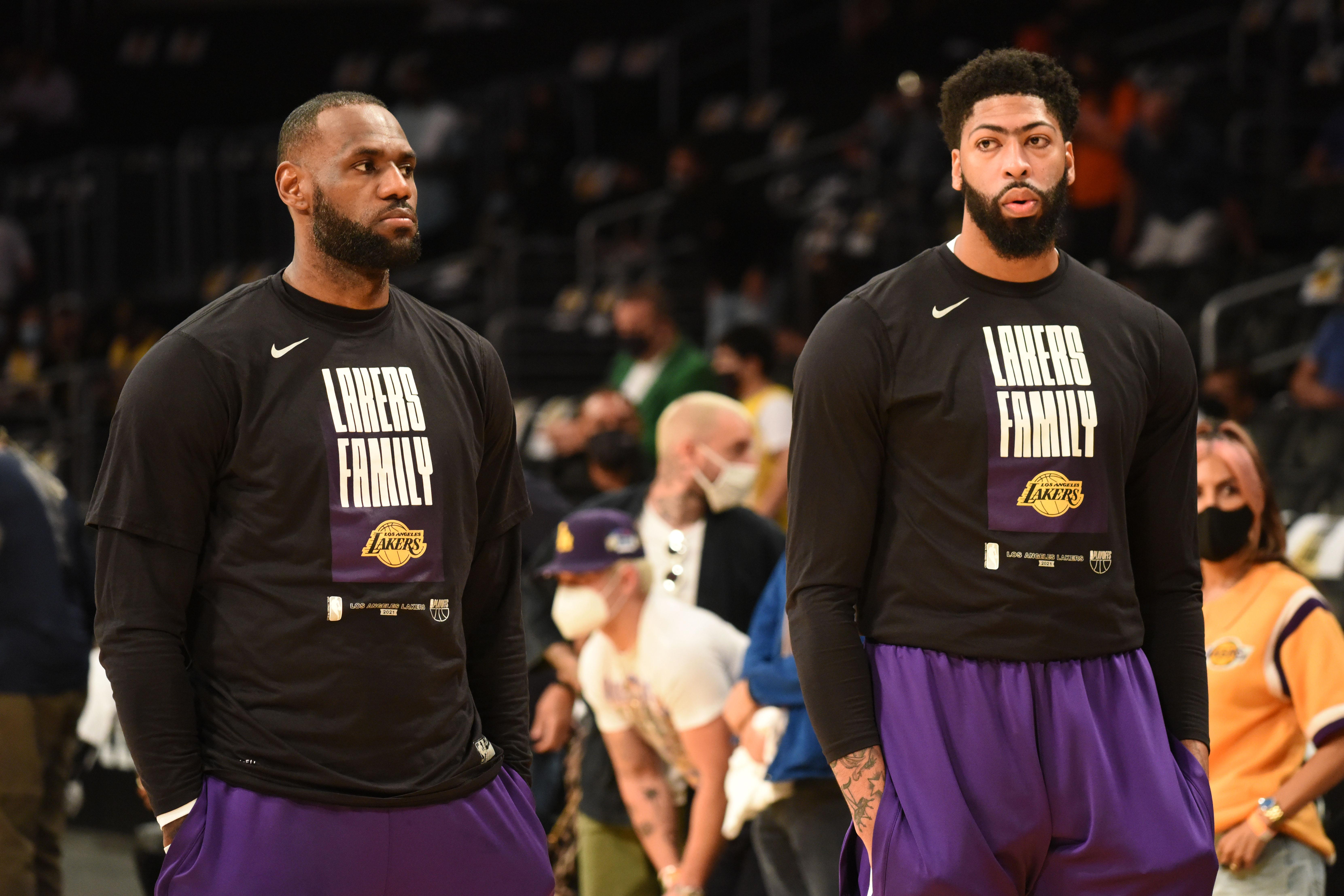 2021 NBA Playoffs - Phoenix Suns v Los Angeles Lakers