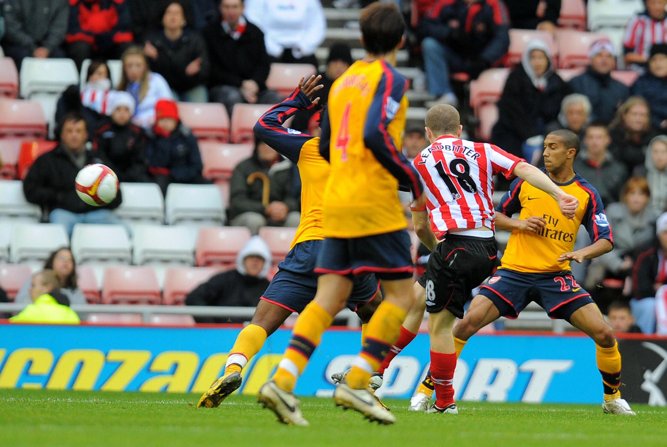 Sunderland's English midfielder Grant Le