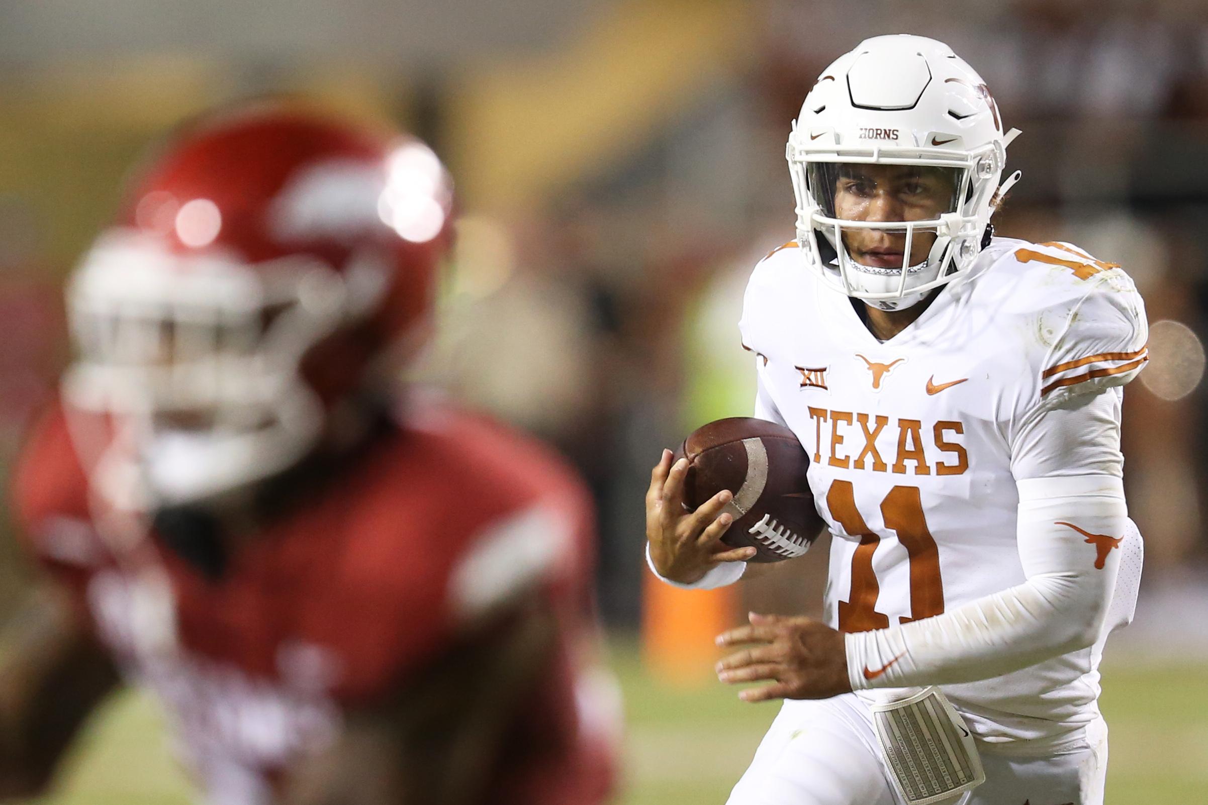 NCAA Football: Texas at Arkansas