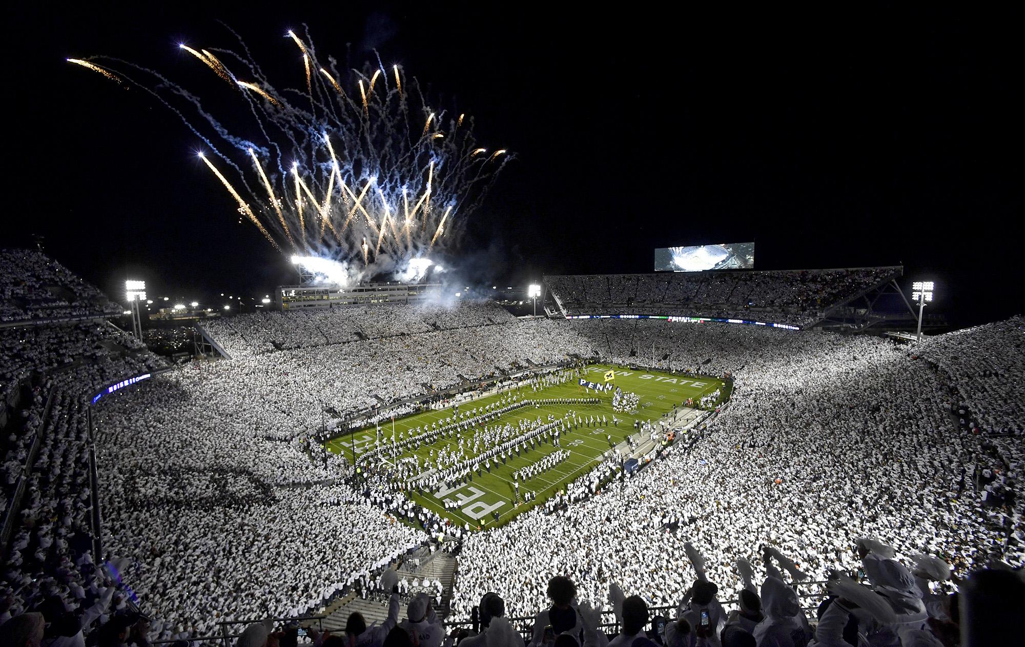 Michigan at Penn State