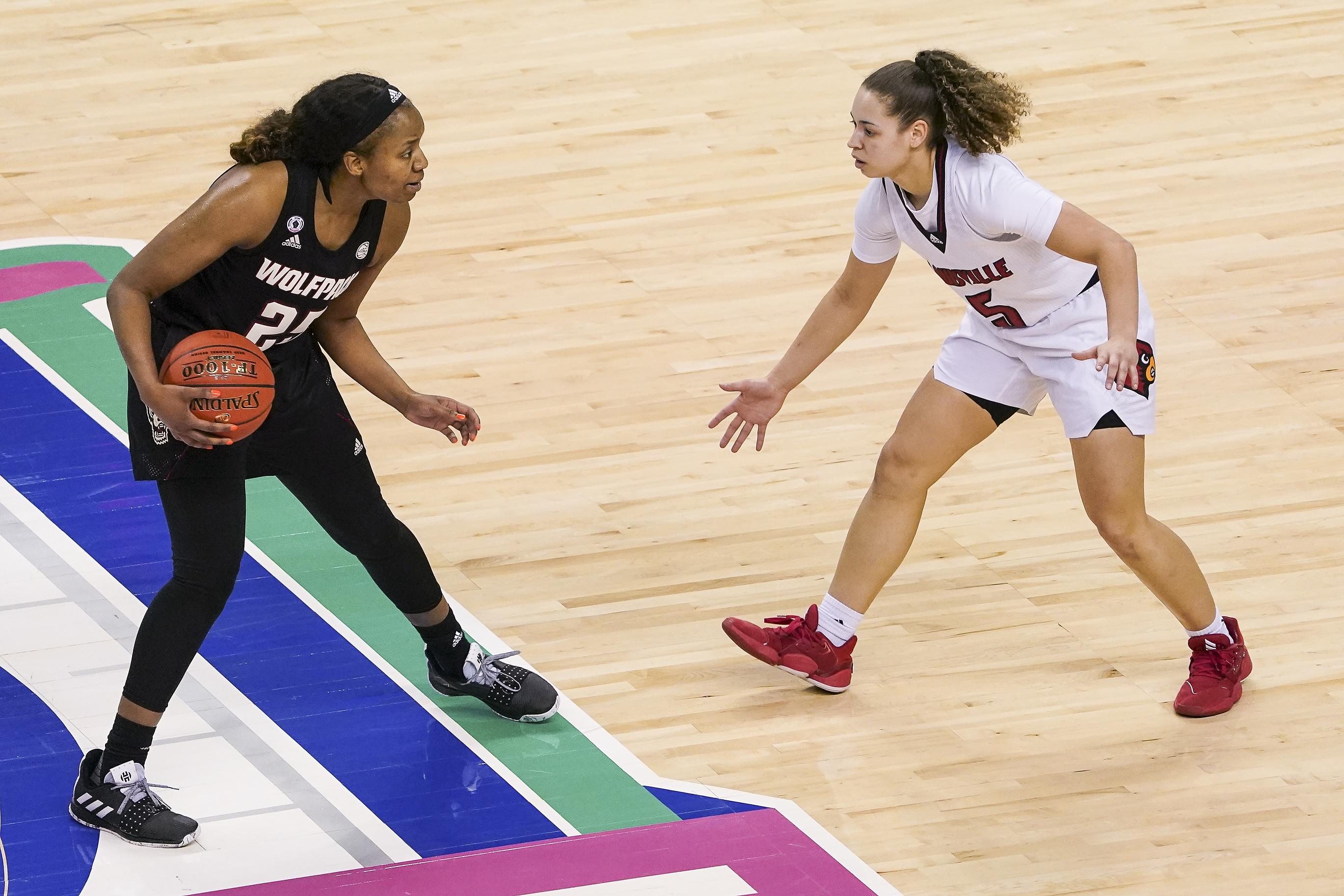 NCAA Womens Basketball: Atlantic Coast Conference Tournament - Louisville vs NC State