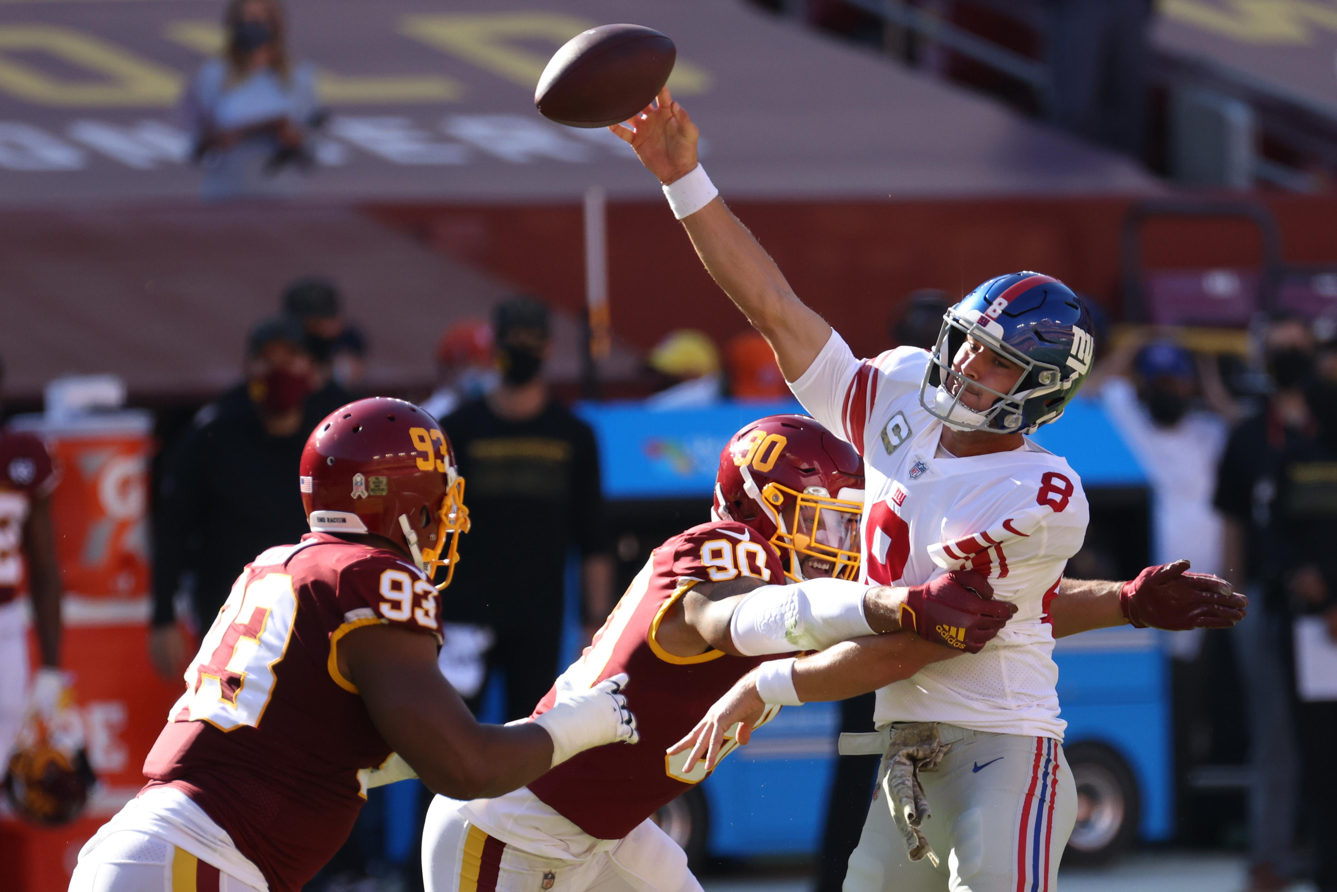 NFL: New York Giants at Washington Football Team