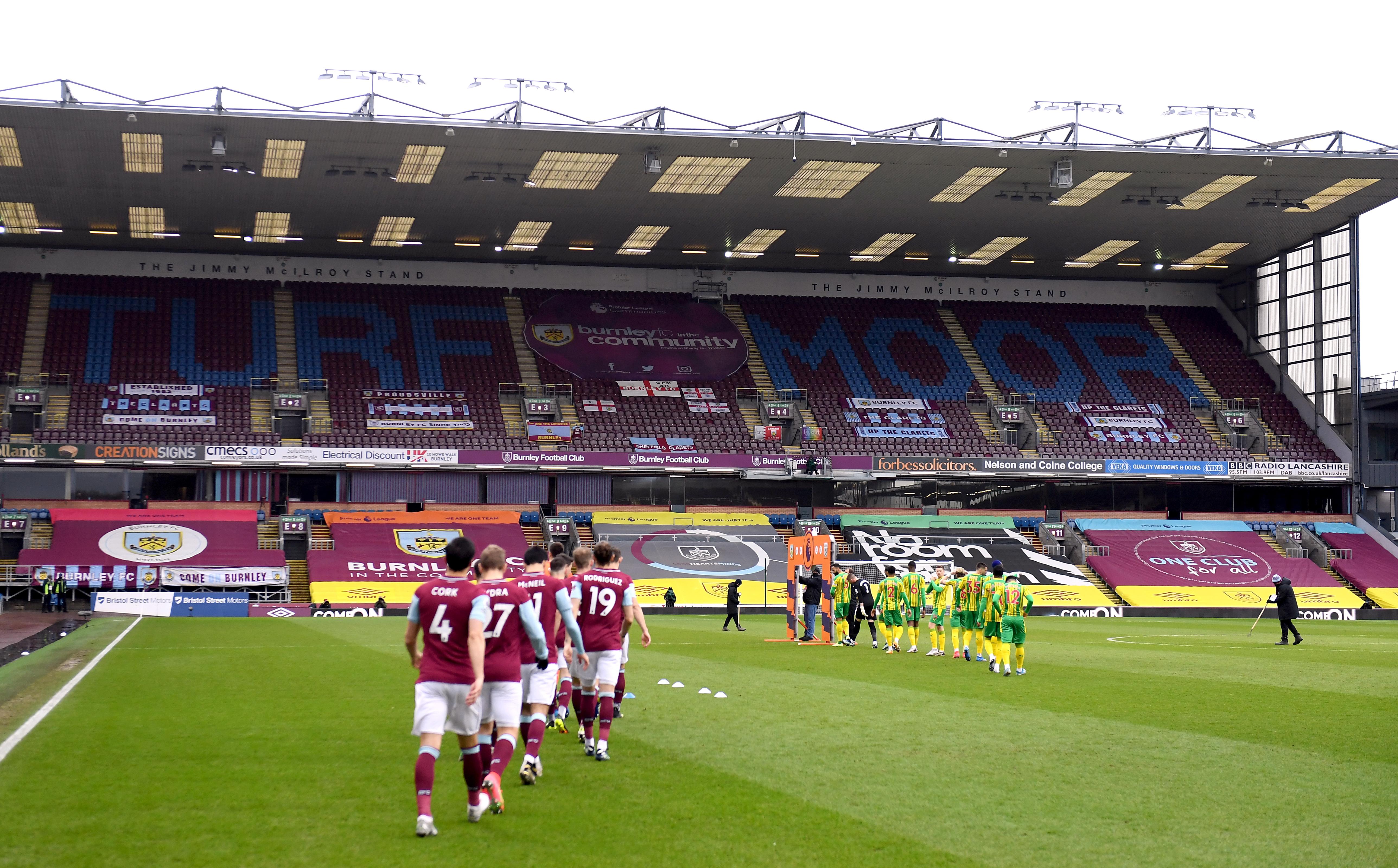 Burnley v West Bromwich Albion - Premier League - Turf Moor