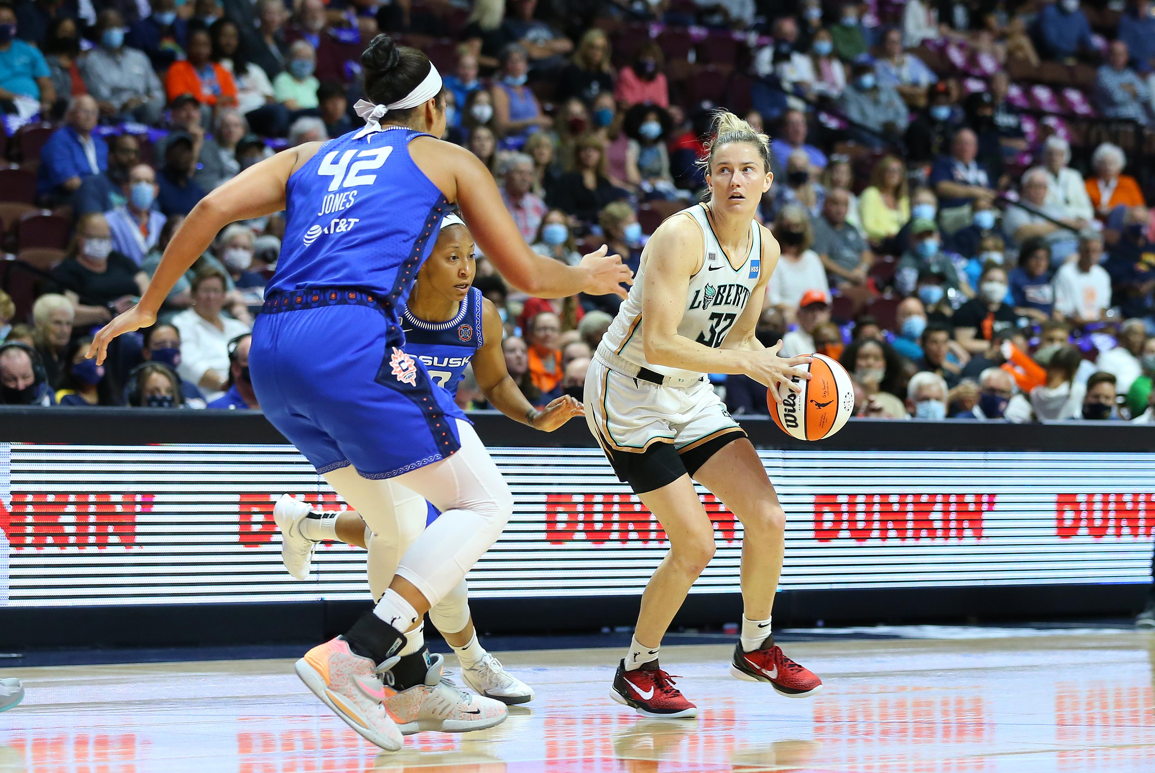 WNBA: SEP 15 New York Liberty at Connecticut Sun