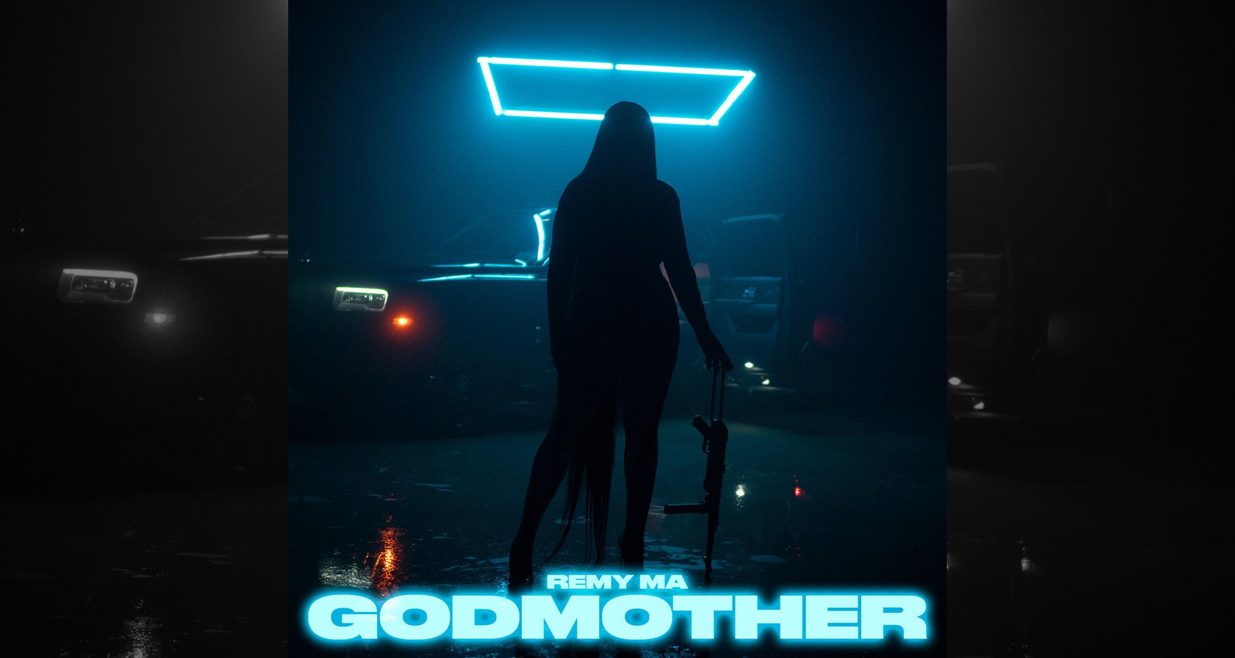 "Remy Ma's ""GodMother"" artwork"