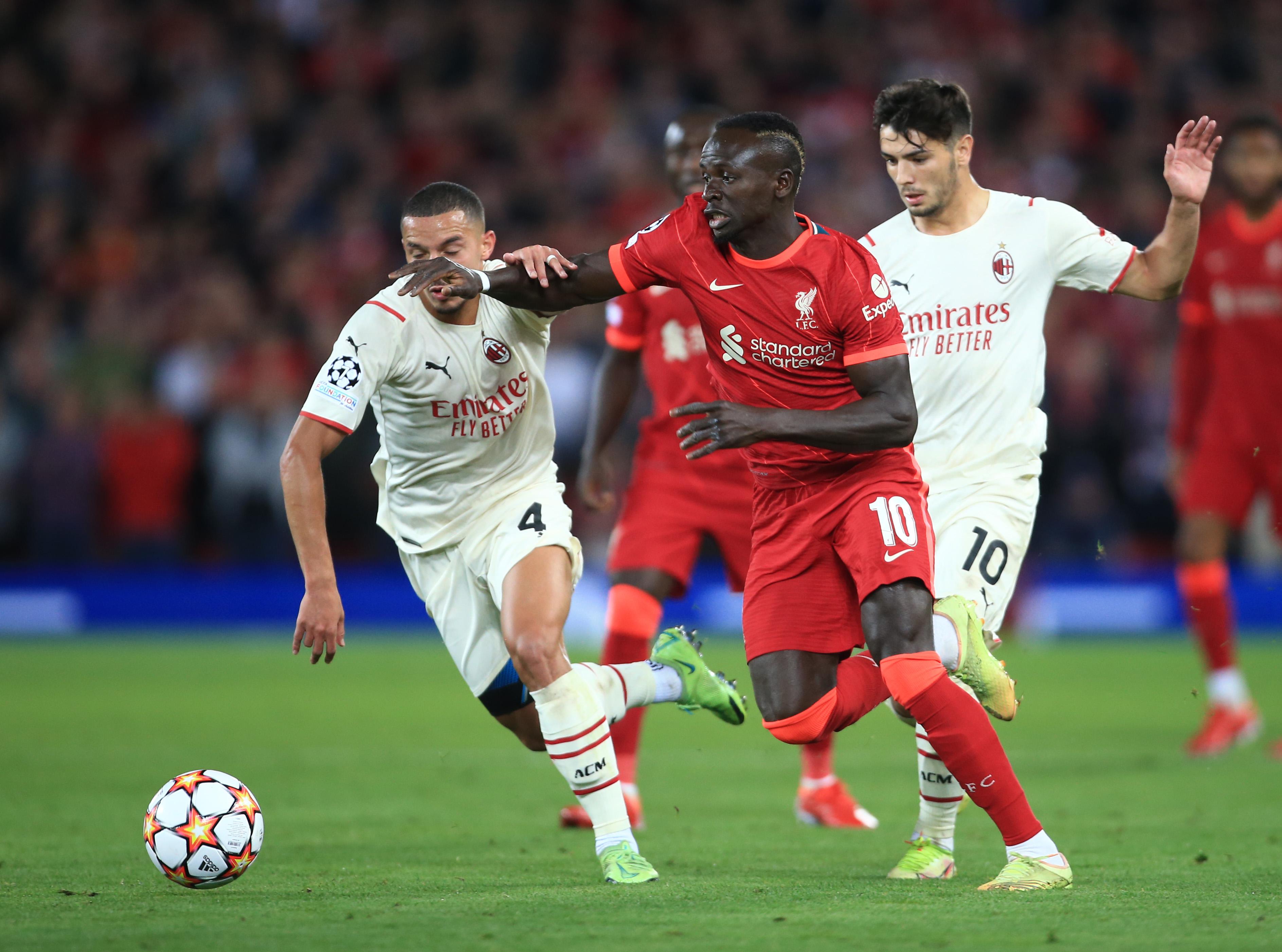 Liverpool FC v AC Milan: Group B - UEFA Champions League