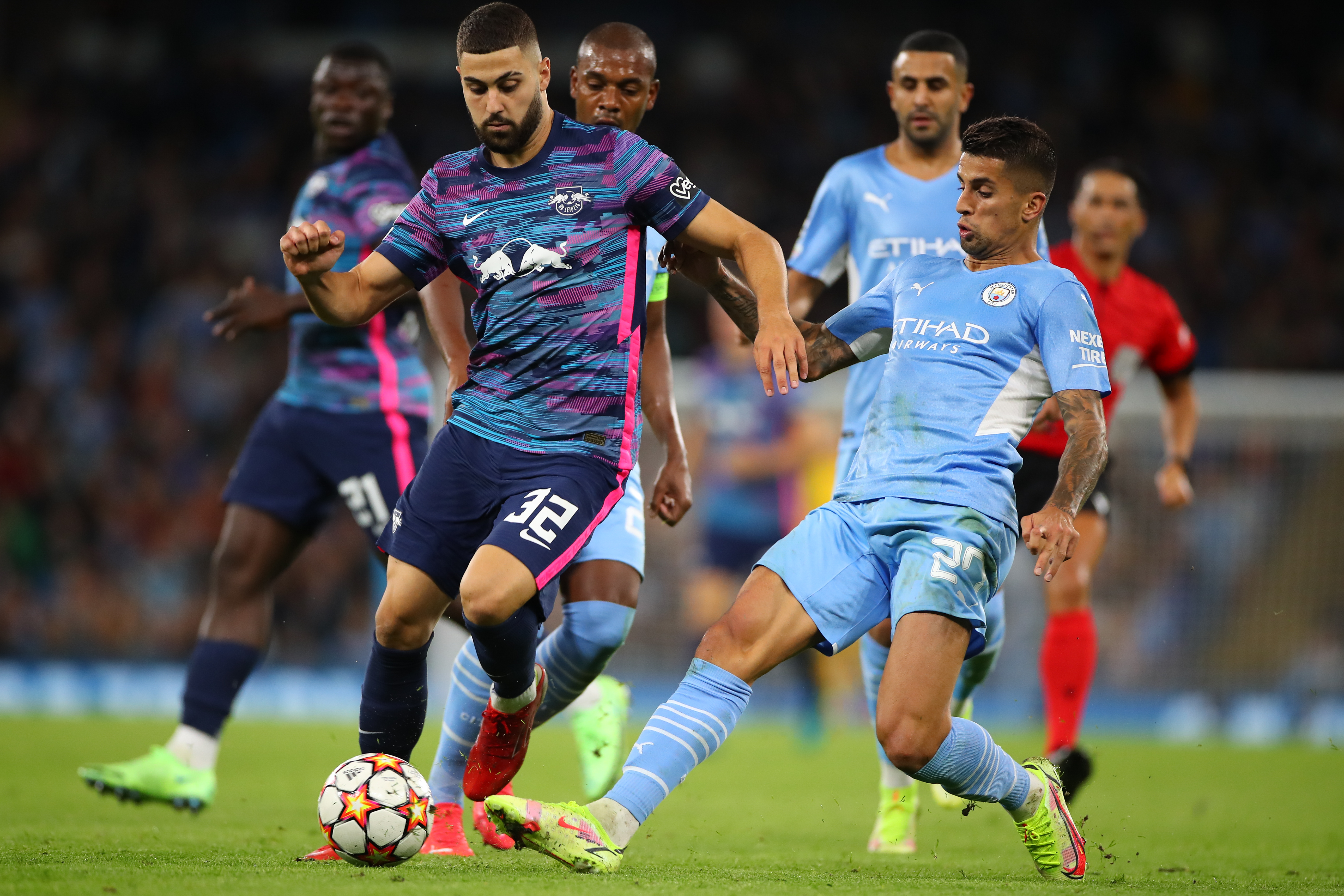 Manchester City v RB Leipzig: Group A - UEFA Champions League