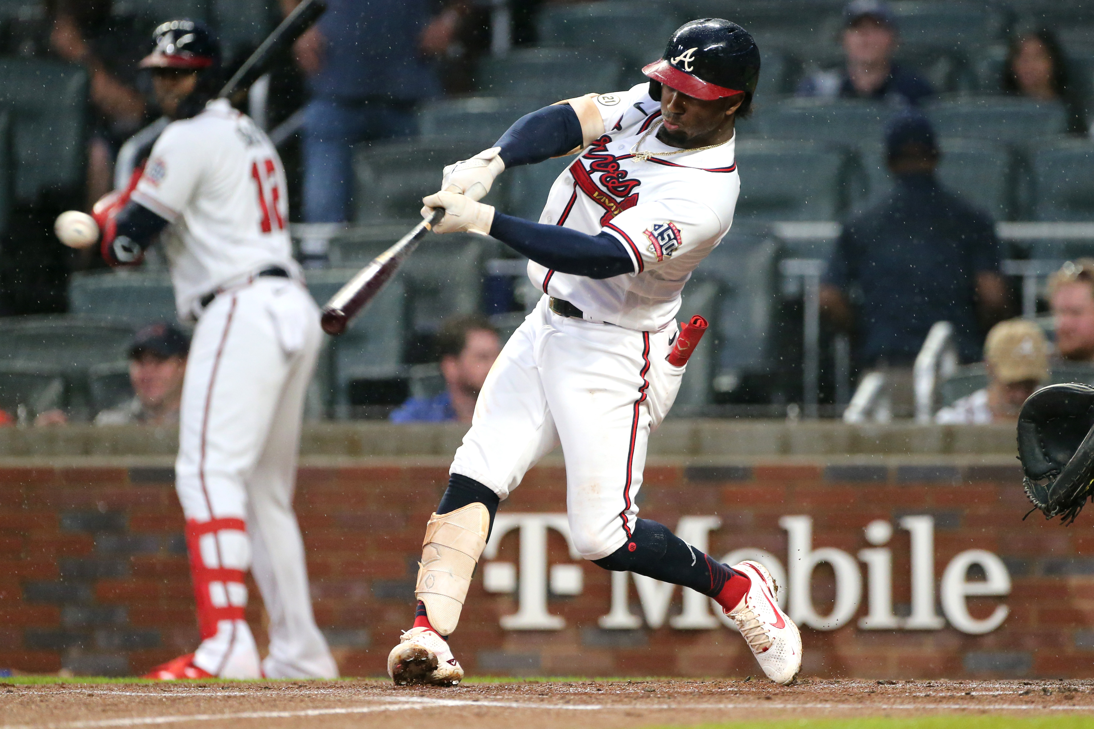 MLB: SEP 15 Rockies at Braves