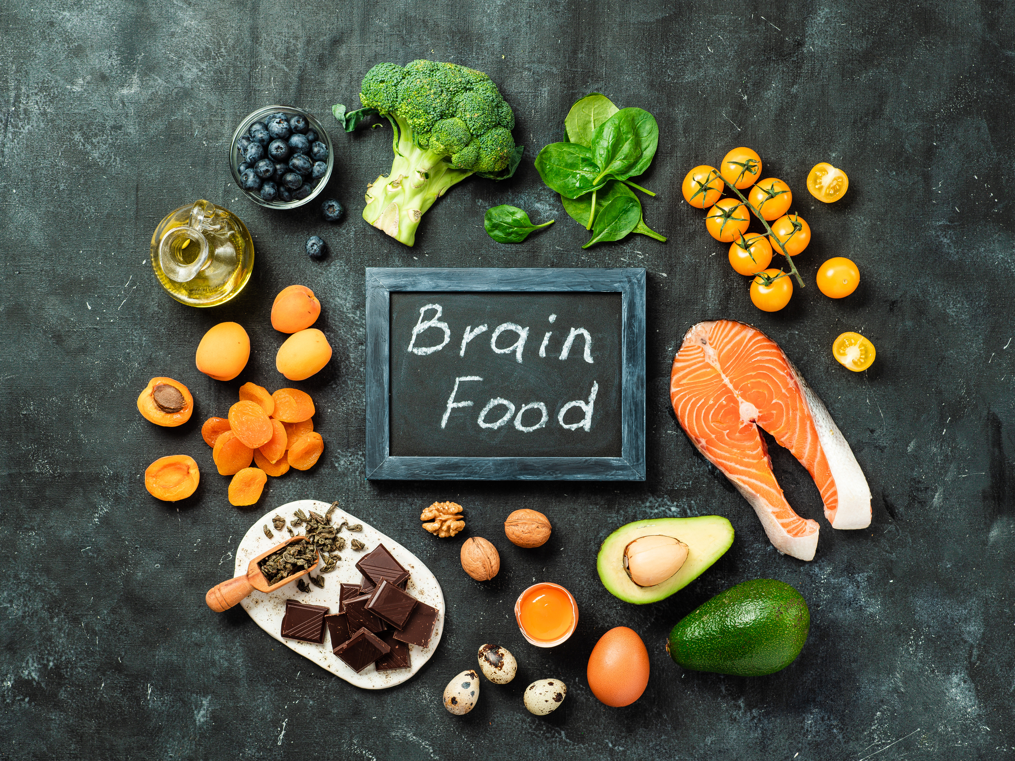 Make sure you give your brain the nourishment it requires.