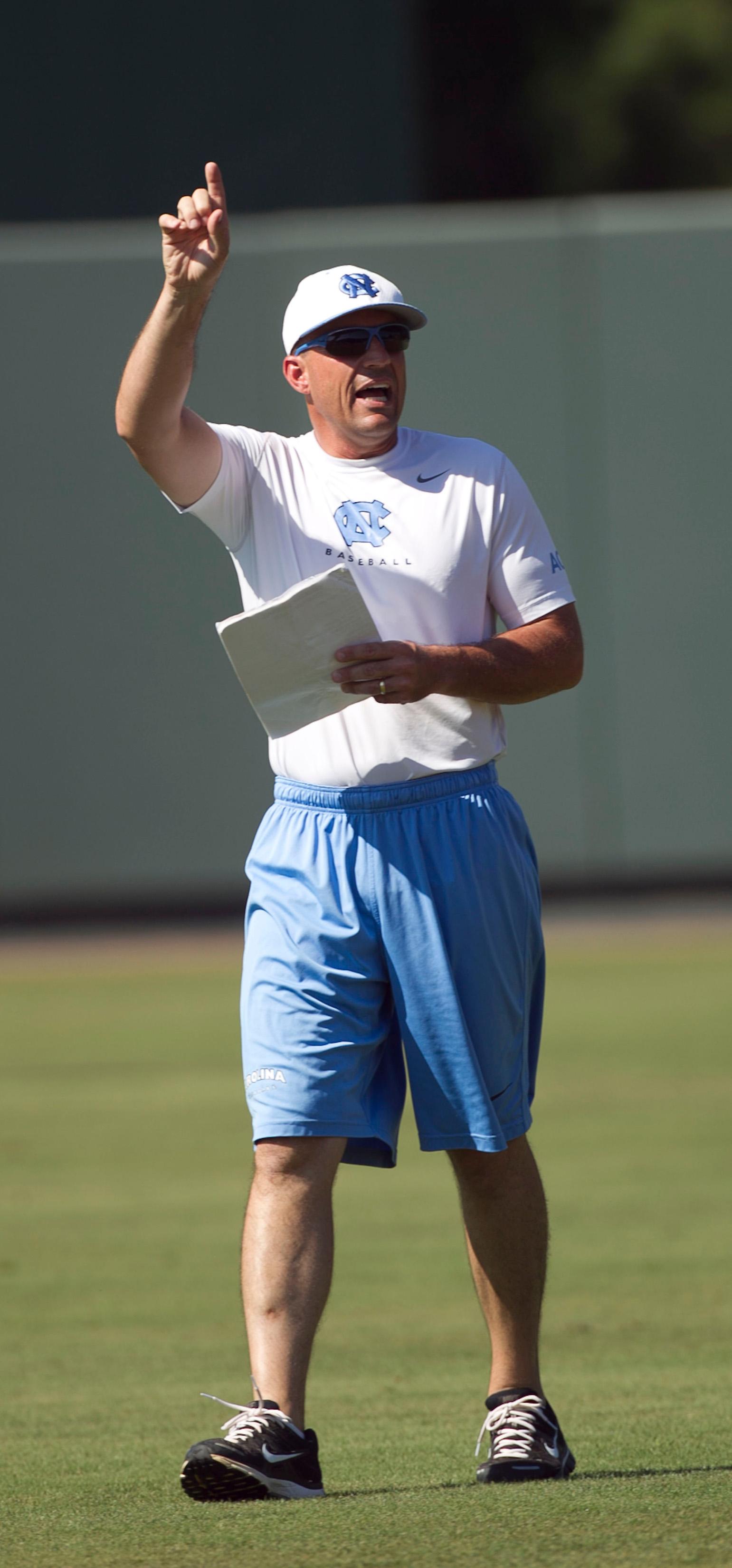 North Carolina Practice for NCAA Baseball