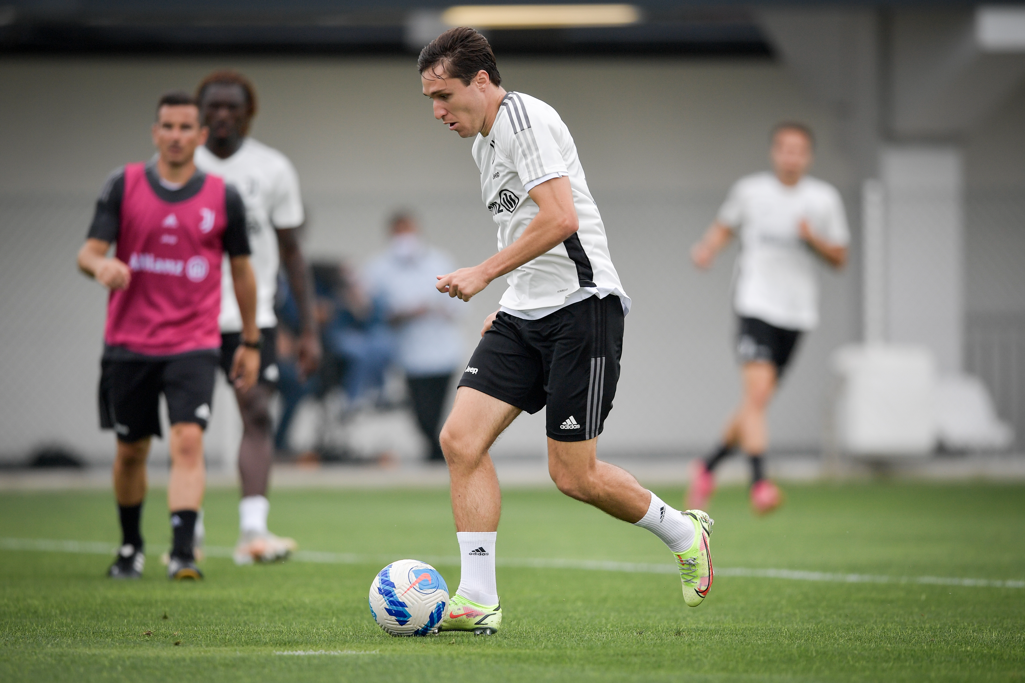 Juventus Training Session And Press Conference