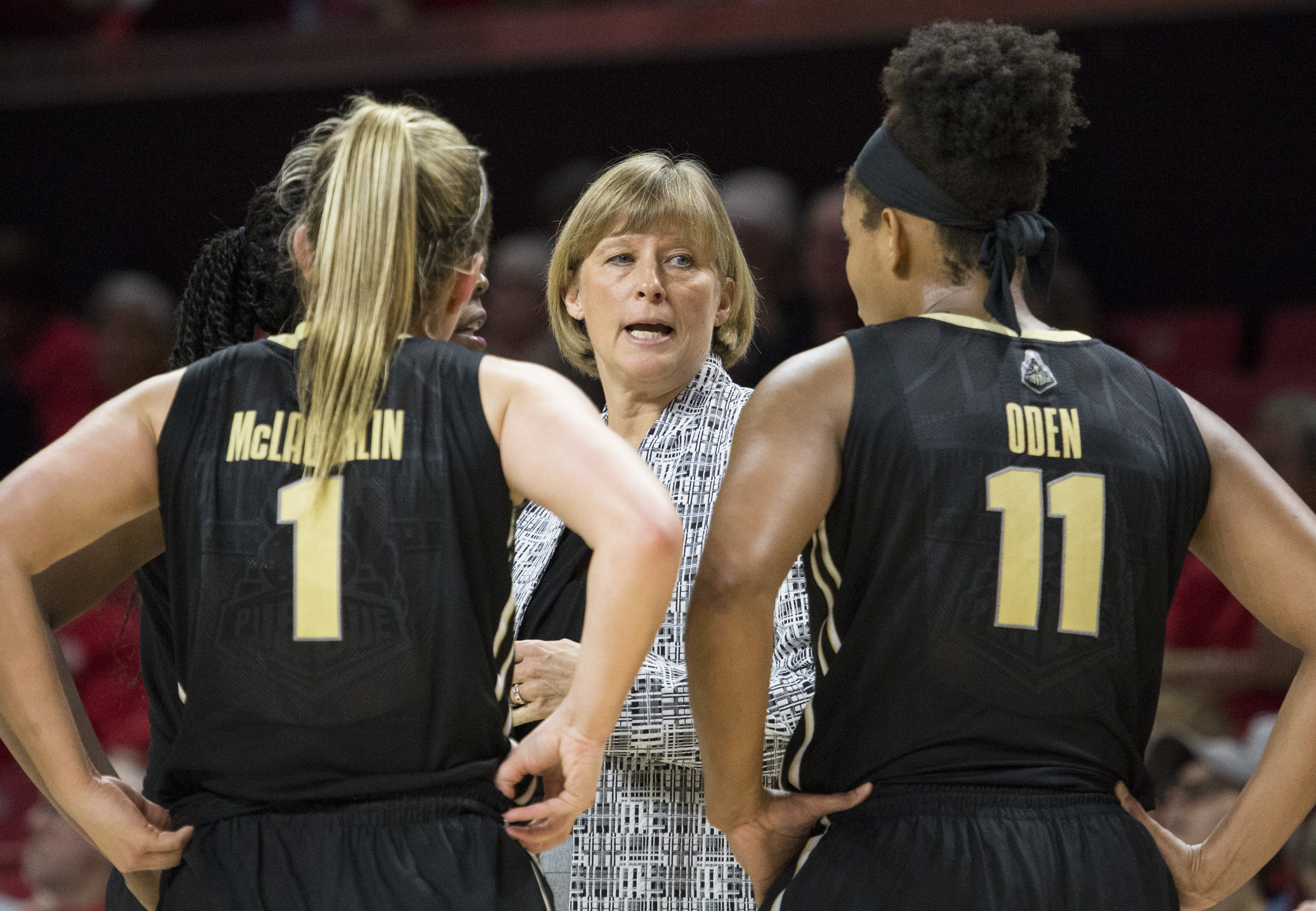 COLLEGE BASKETBALL: FEB 15 Women's - Purdue at Maryland