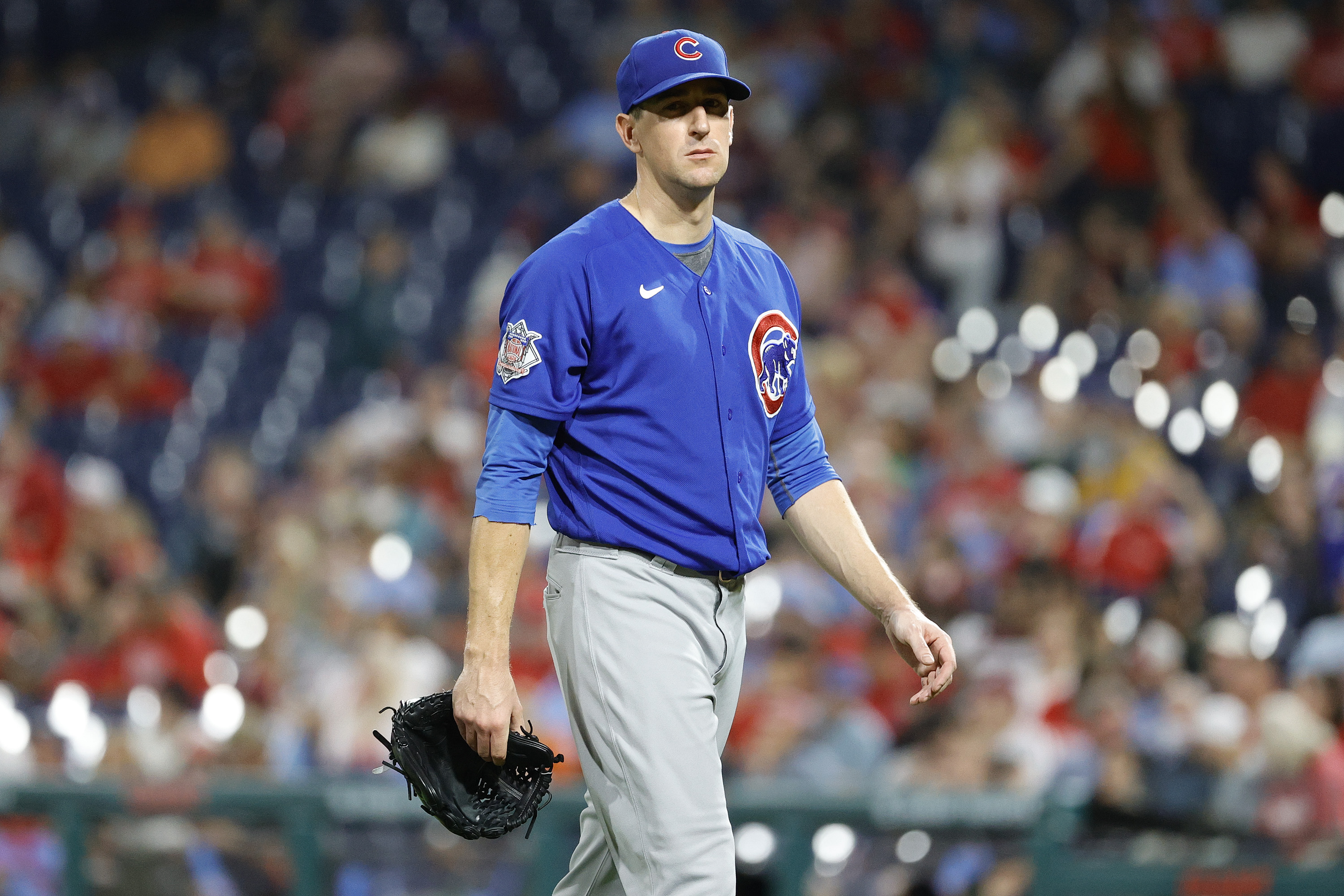 """""""I just have to be much better for this team going forward,"""" Cubs starter Kyle Hendricks said. """"We got two weeks left. It's just working on my pitches, get the confidence back a little bit."""""""