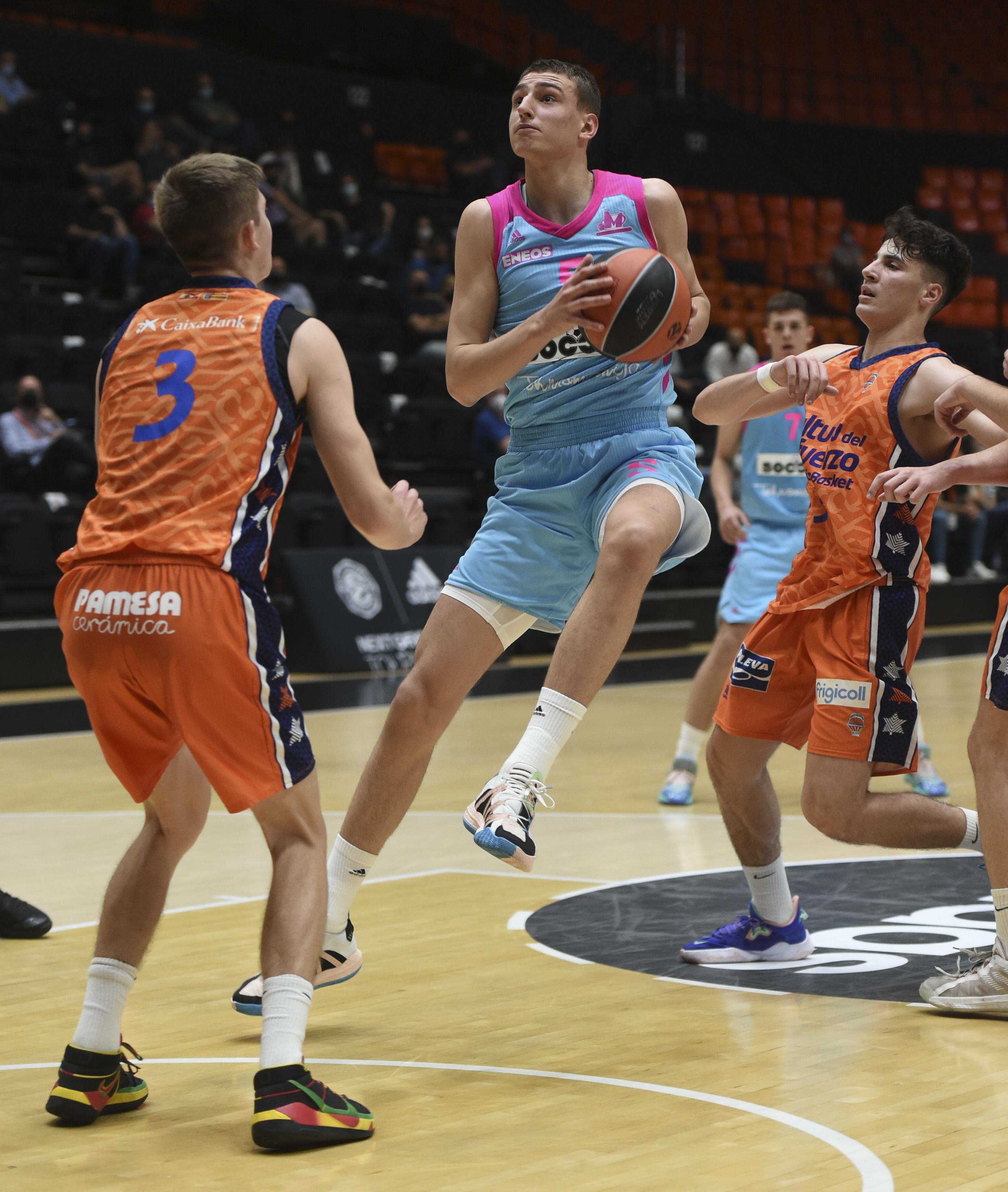 U18 Valencia Basket v U18 Mega SoccerBet Belgrade - Euroleague Basketball 2020-2021 Adidas Next Generation Tournament
