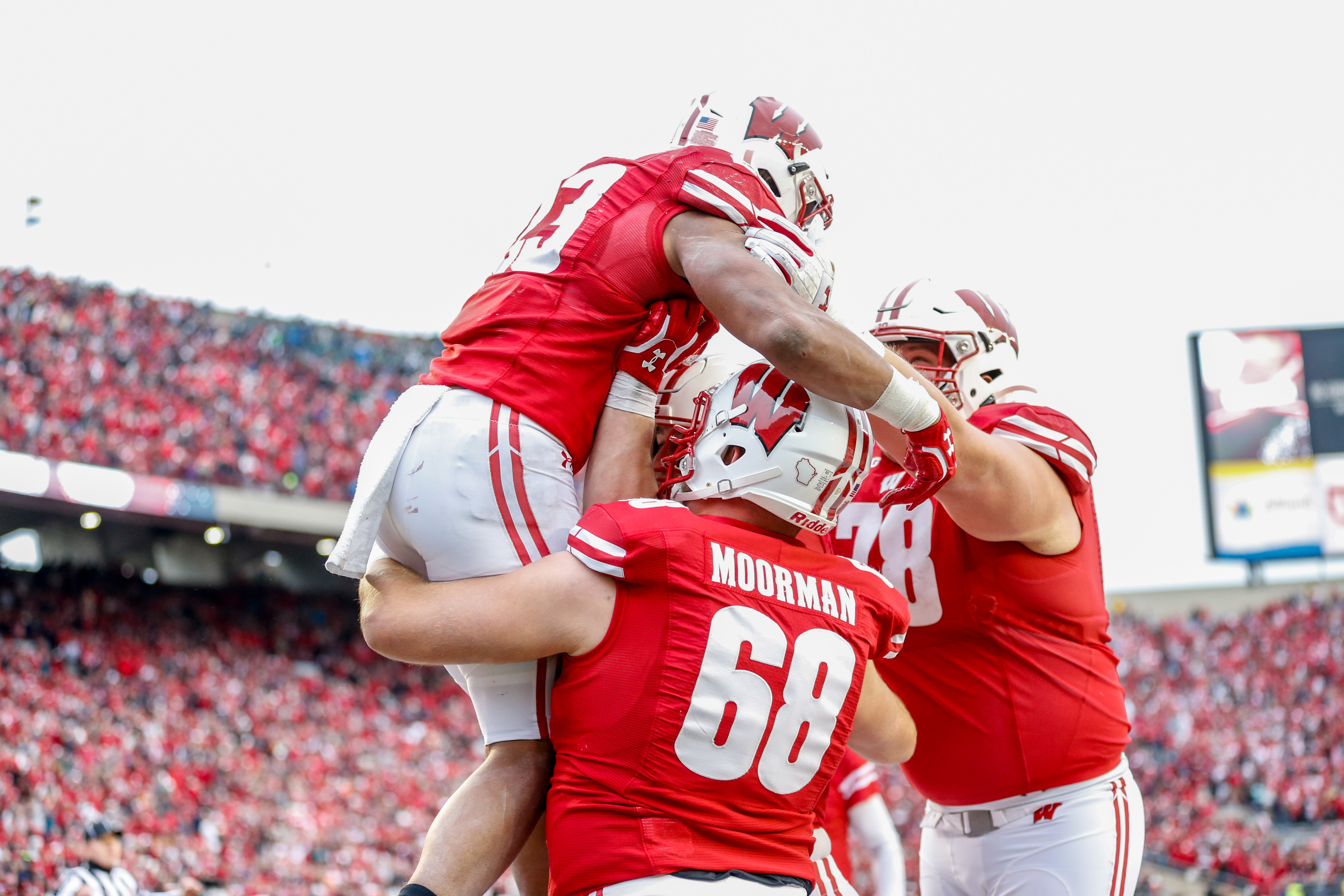 COLLEGE FOOTBALL: OCT 12 Michigan State at Wisconsin