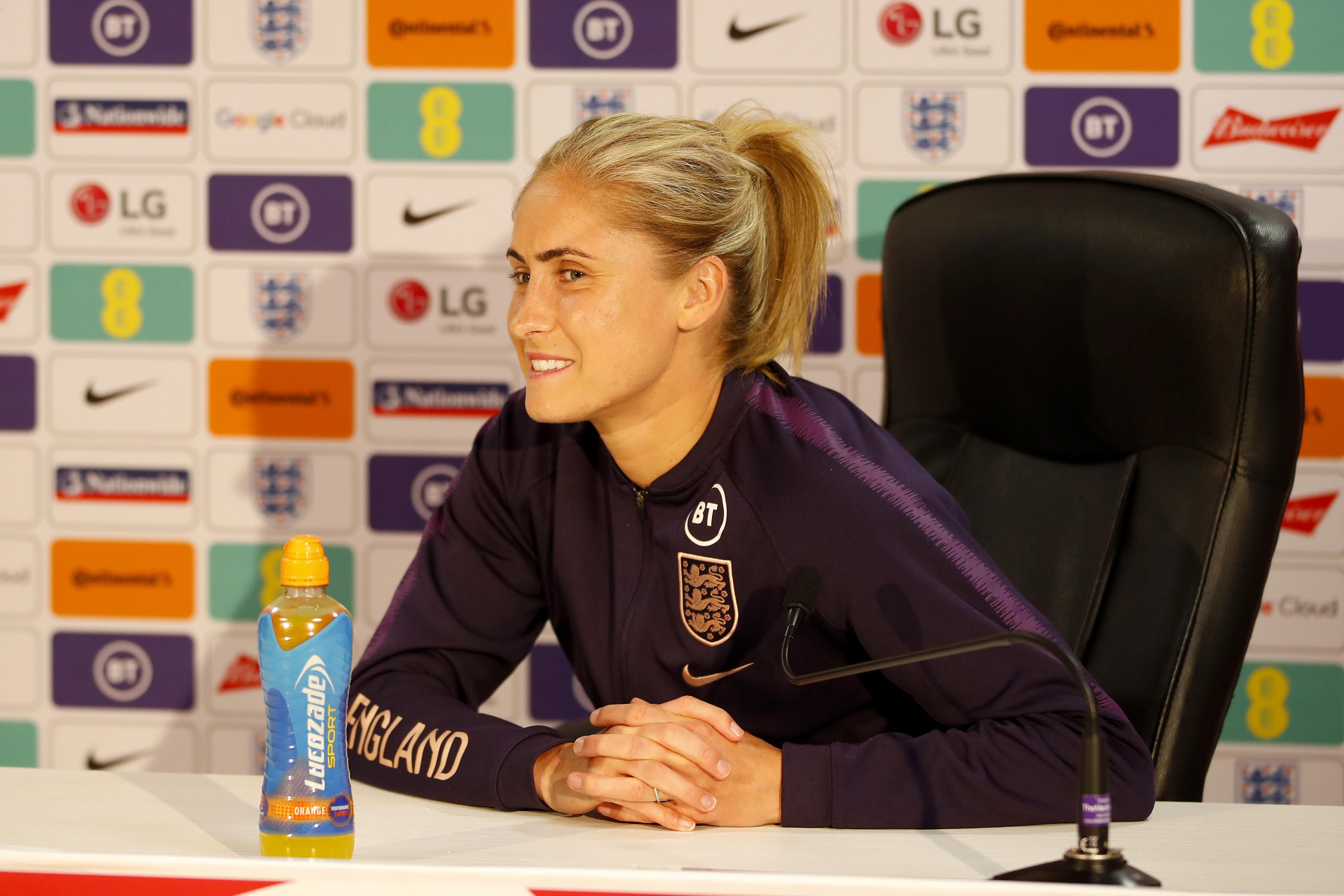 England Women Camp - FIFA Women's World Cup Qualifiers