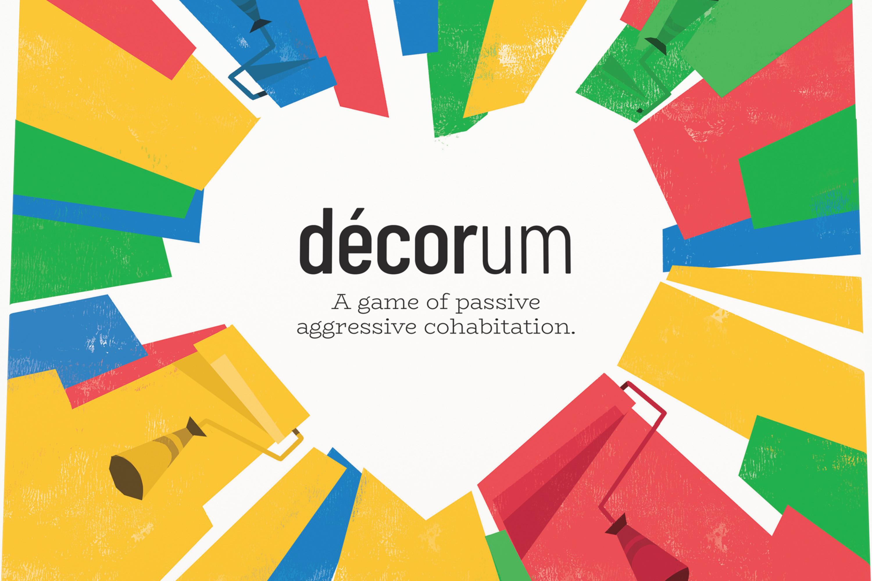 Cover art for Decorum.