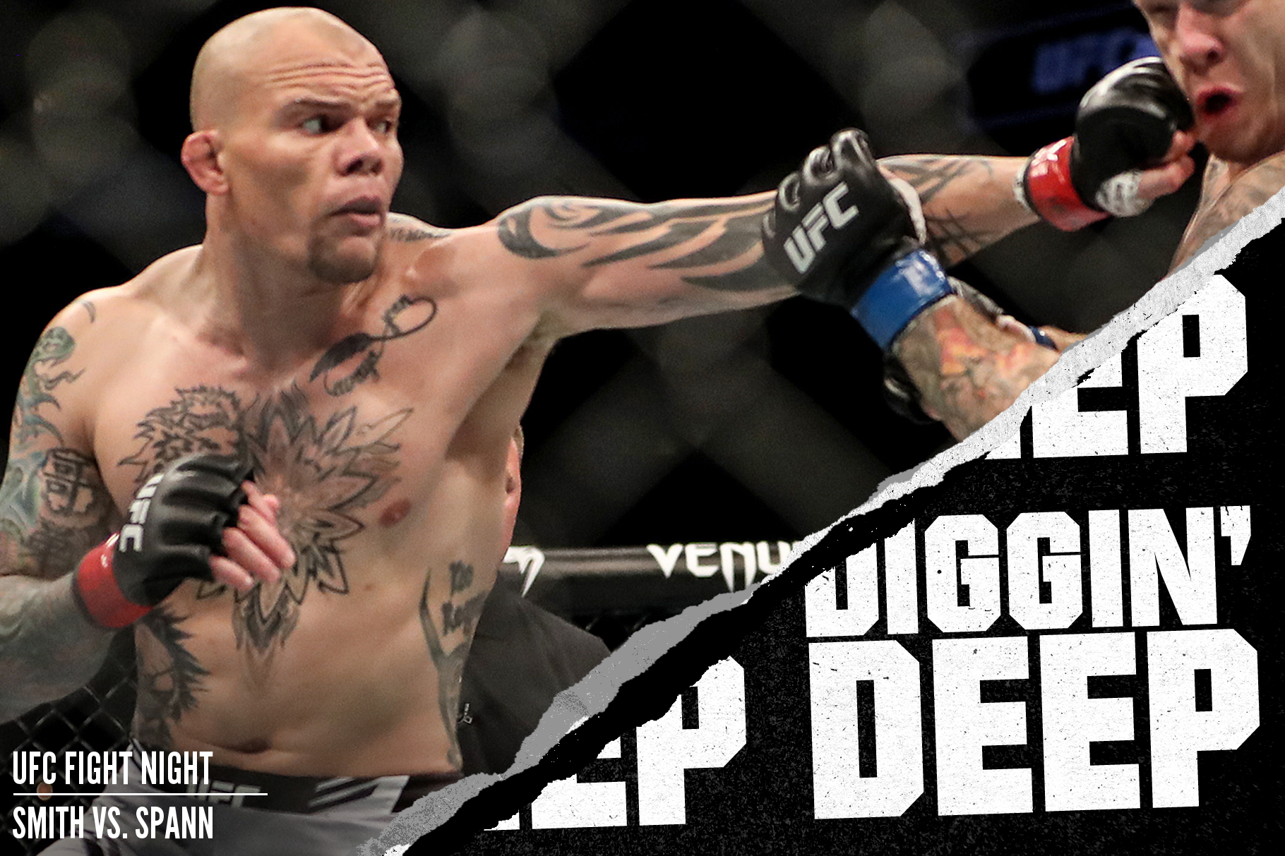 Anthony Smith fighting Jimmy Crute at UFC 261
