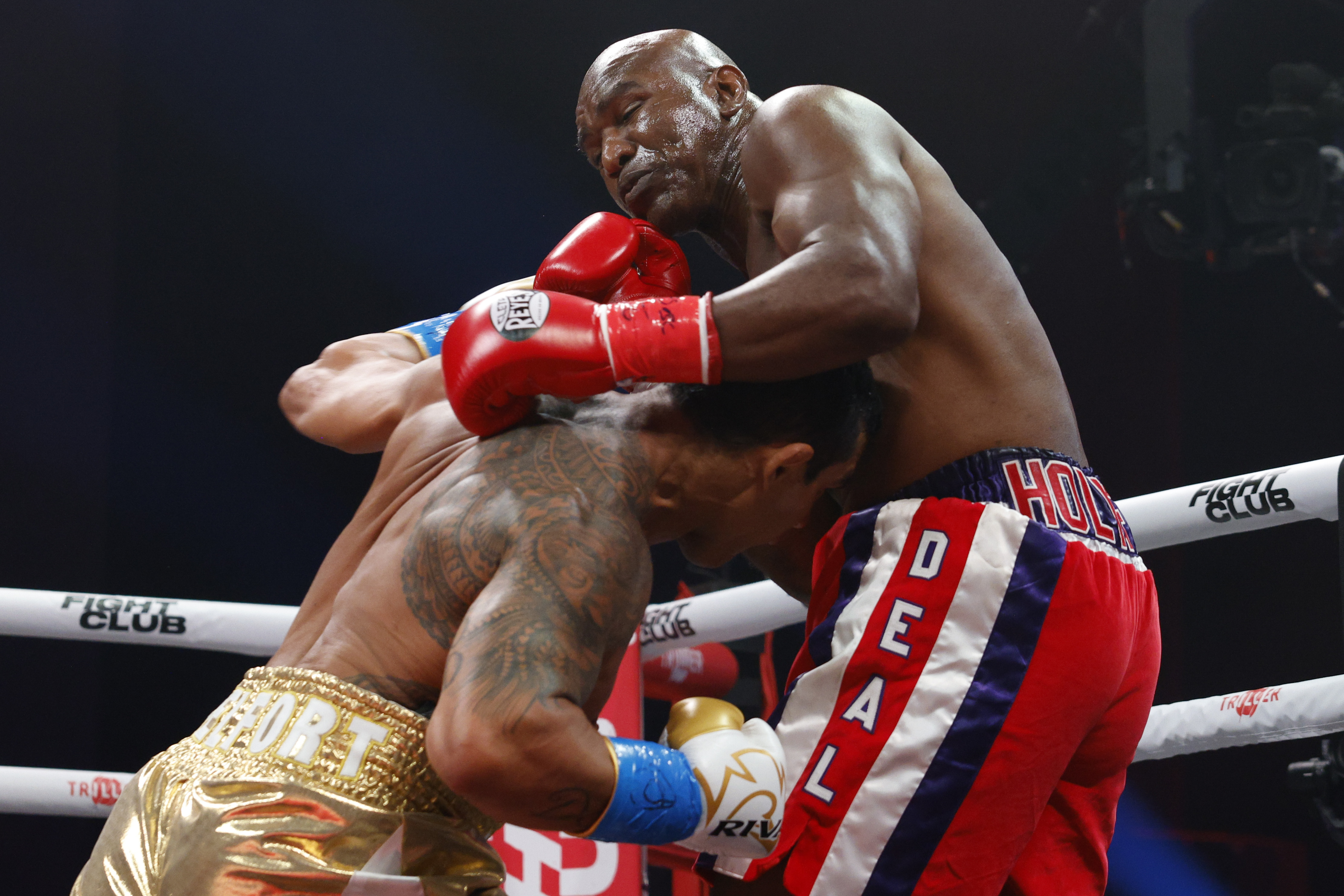 Triller's Holyfield-Belfort PPV was a buy rate flop.