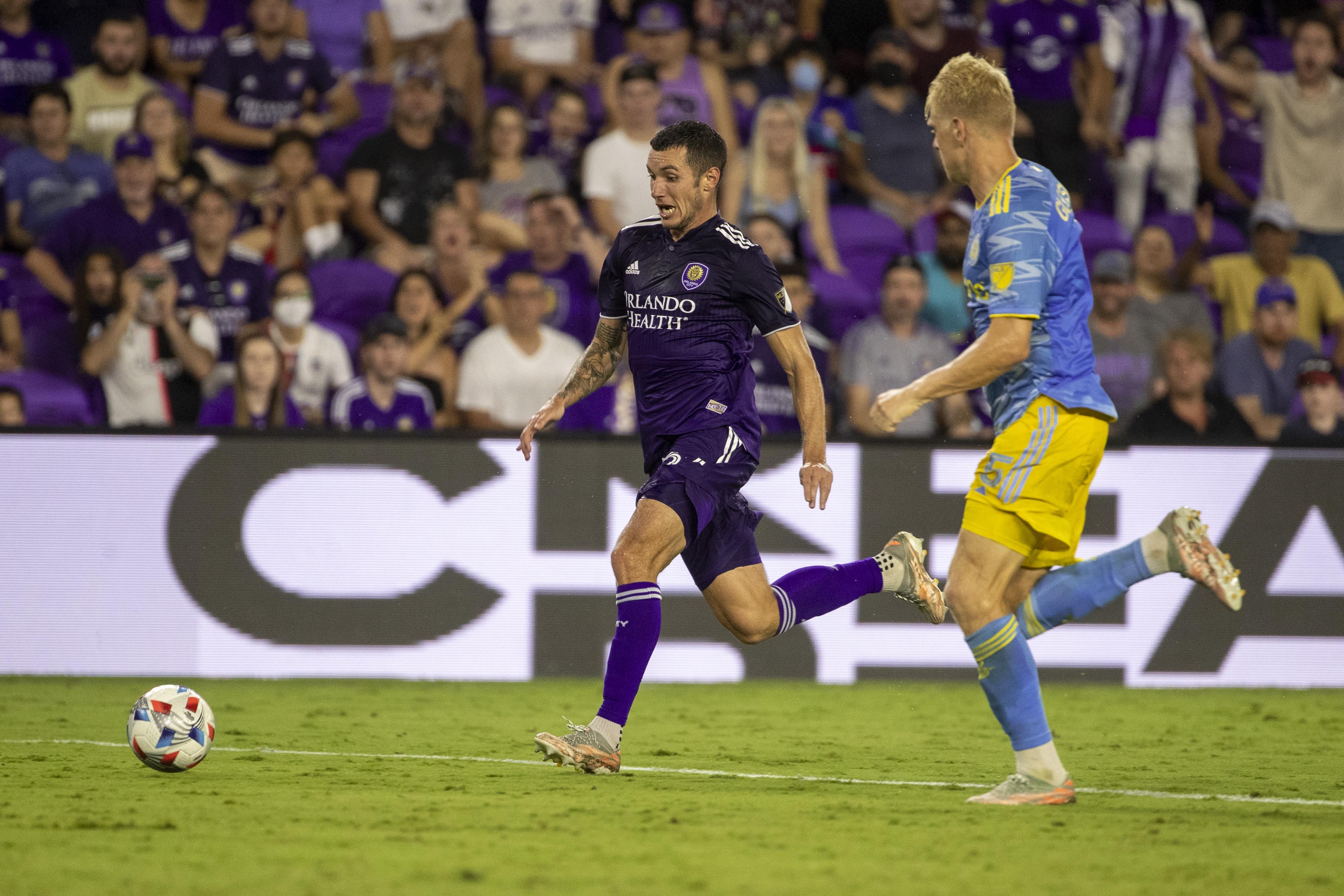 SOCCER: JUL 22 MLS - Philadelphia Union at Orlando City SC
