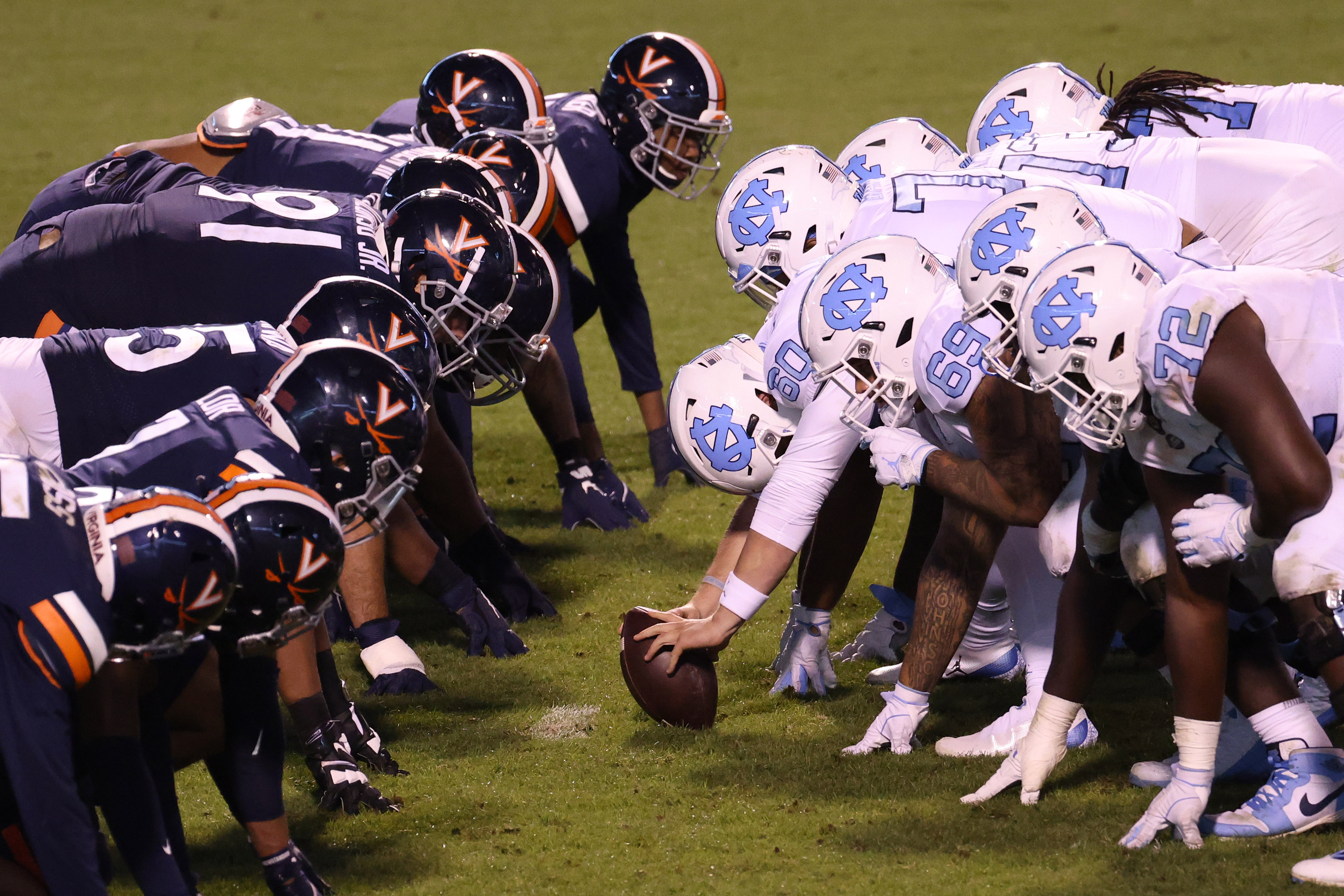 NCAA Football: North Carolina at Virginia