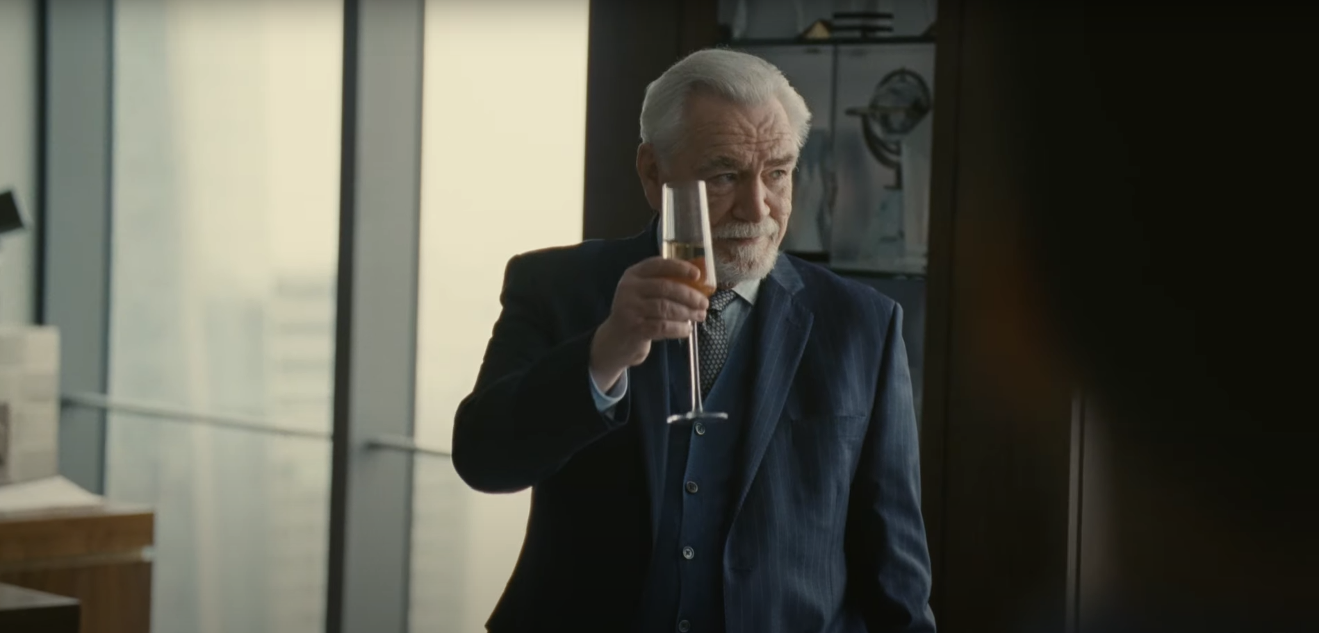 Brian Cox as Logan Roy in HBO's Succession