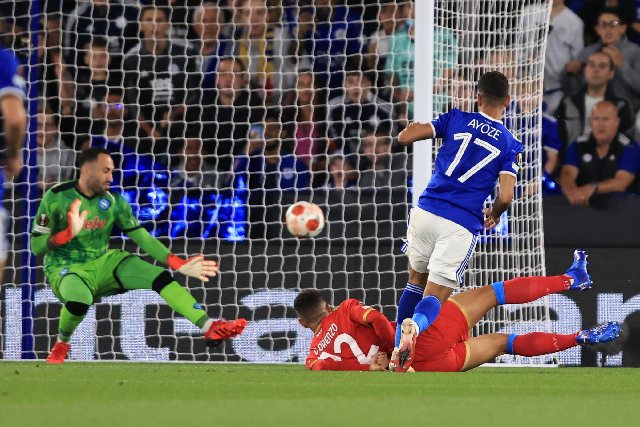 Leicester City v SSC Napoli: Group C - UEFA Europa League