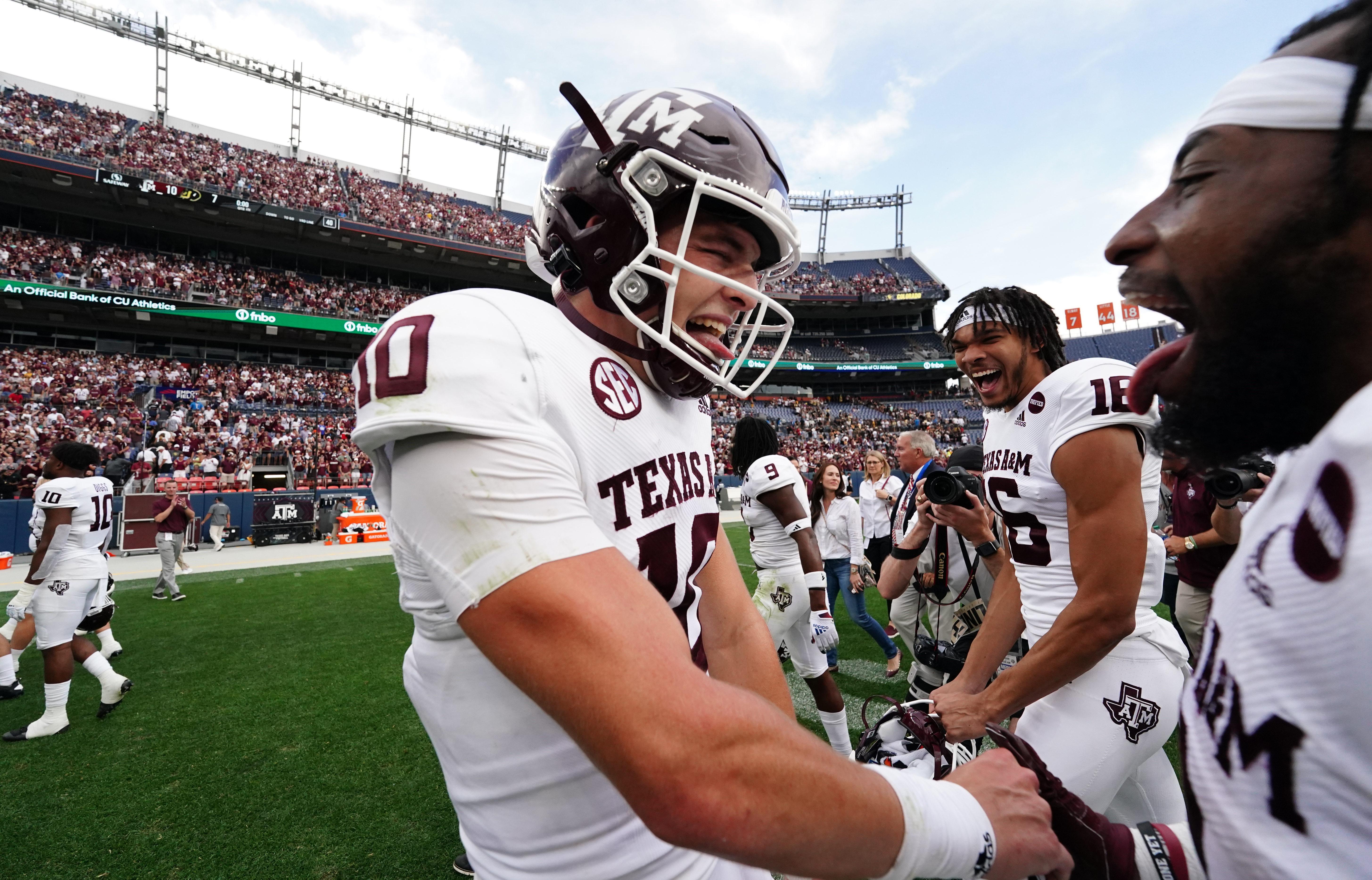 NCAA Football: Texas A&M at Colorado