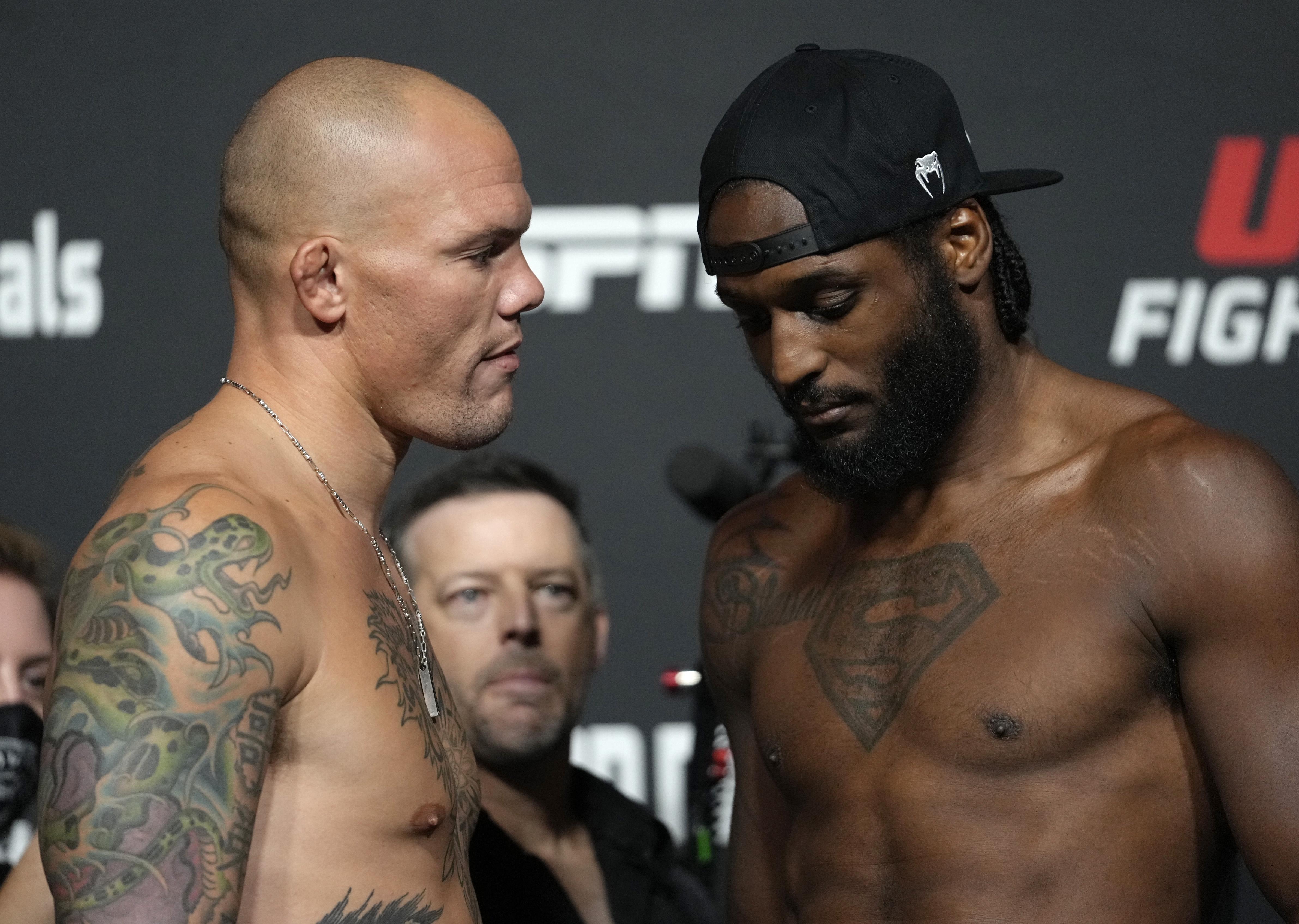 UFC Fight Night: Smith v Spann Weigh-in