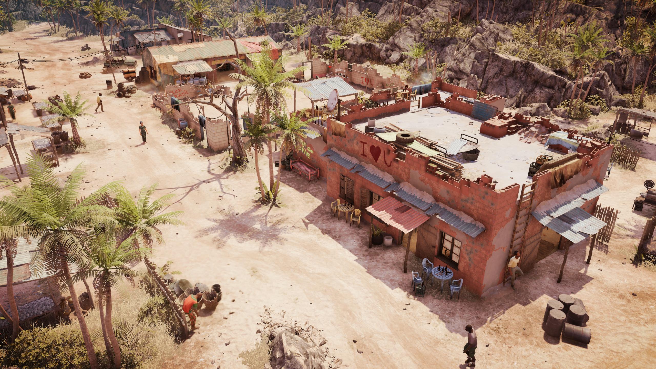Screenshot from Jagged Alliance 3